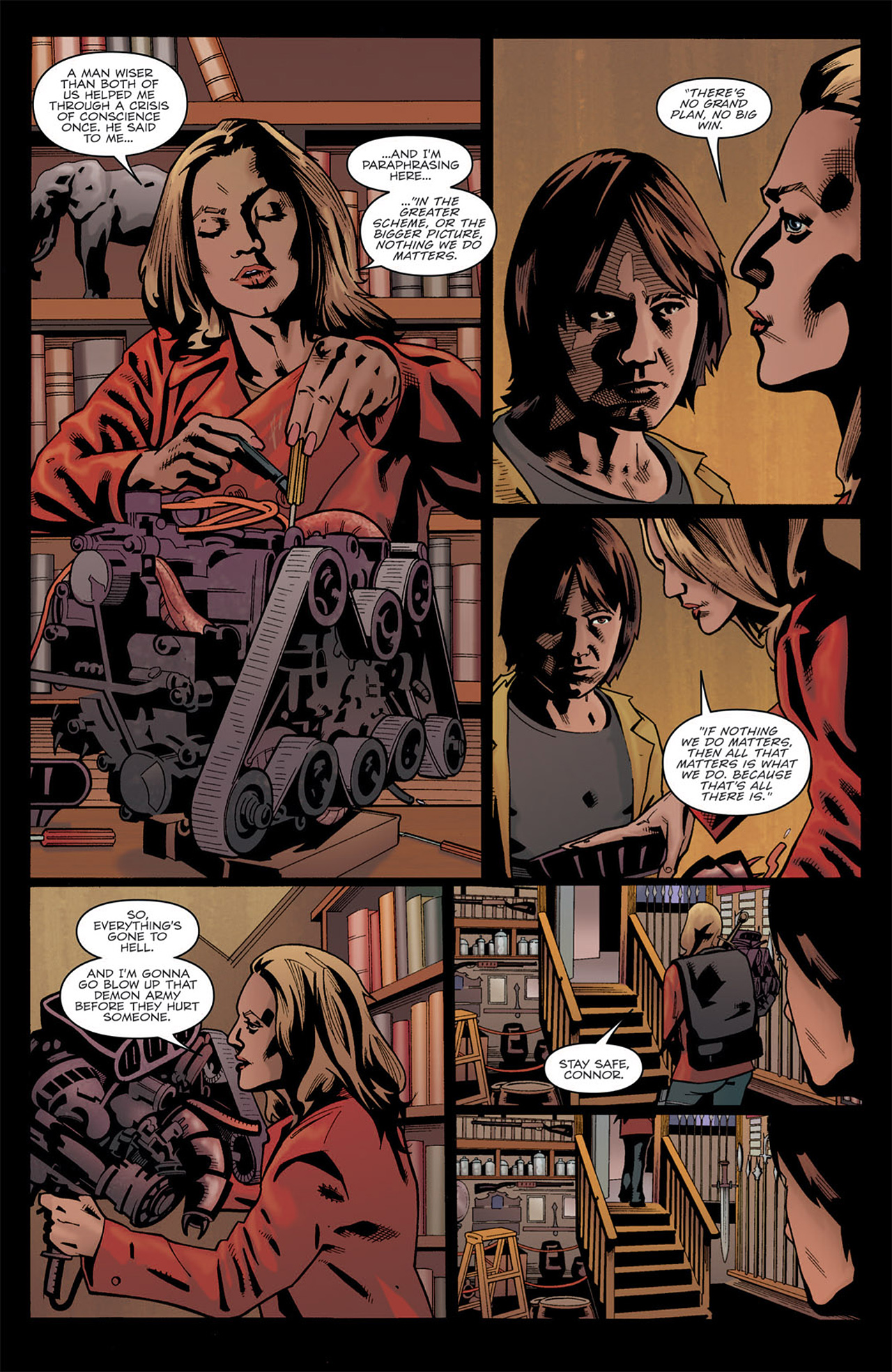 Read online Angel: After The Fall comic -  Issue #7 - 22