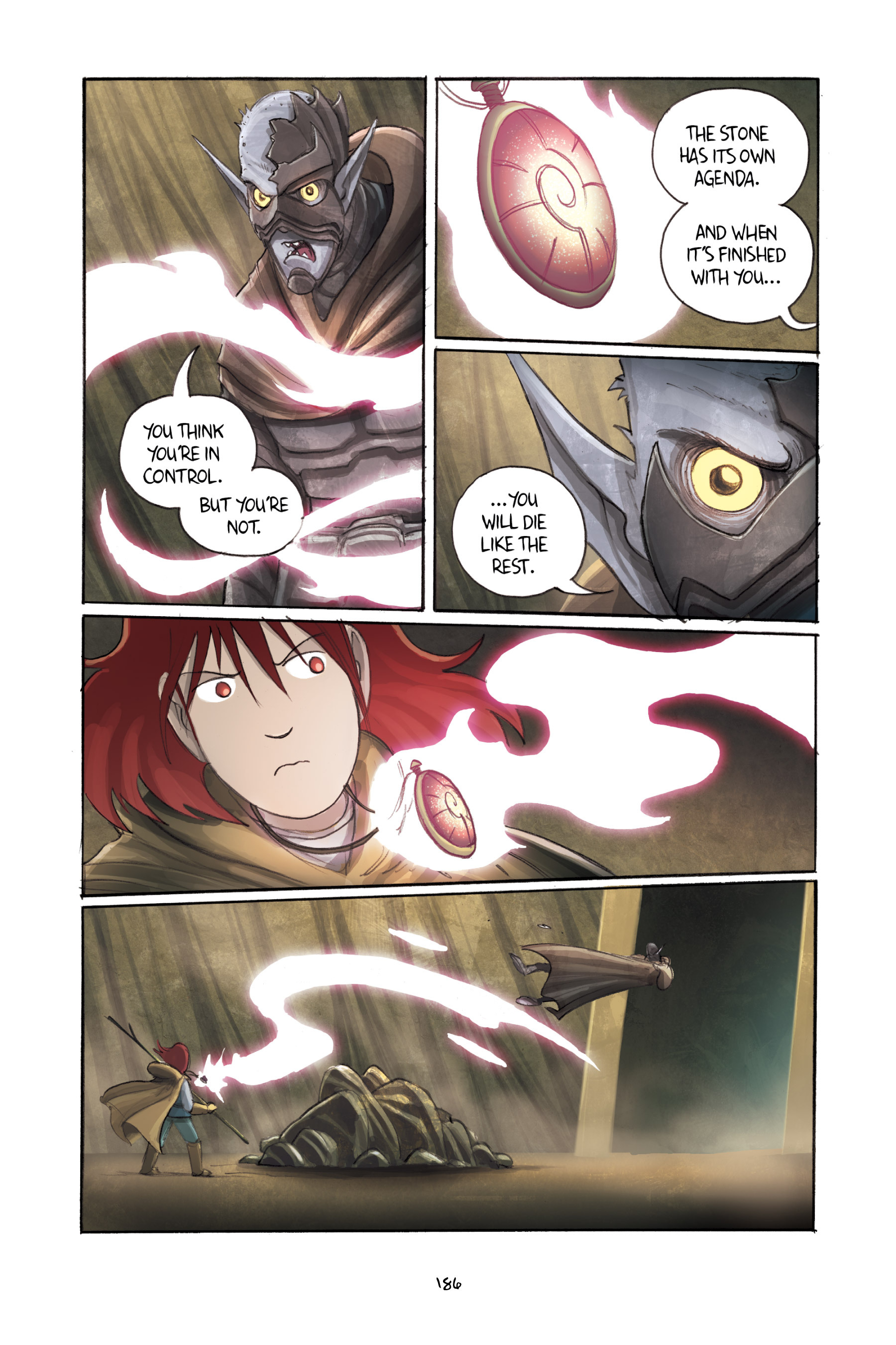 Read online Amulet comic -  Issue #3 - 182
