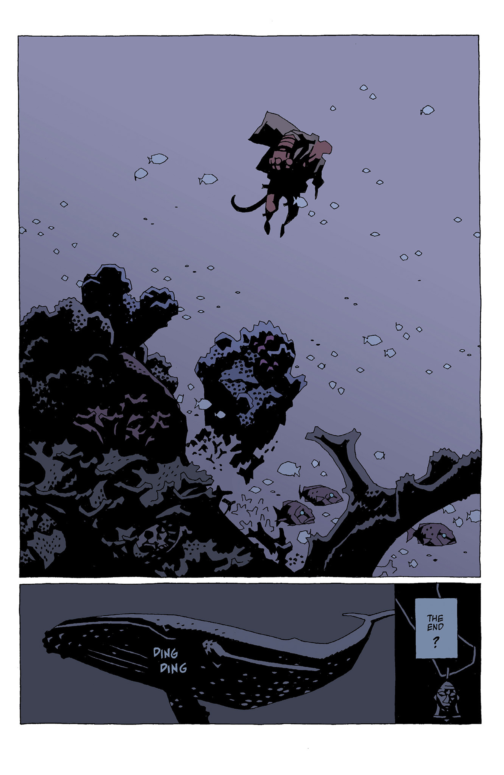 Read online Hellboy: Strange Places comic -  Issue # TPB - 65