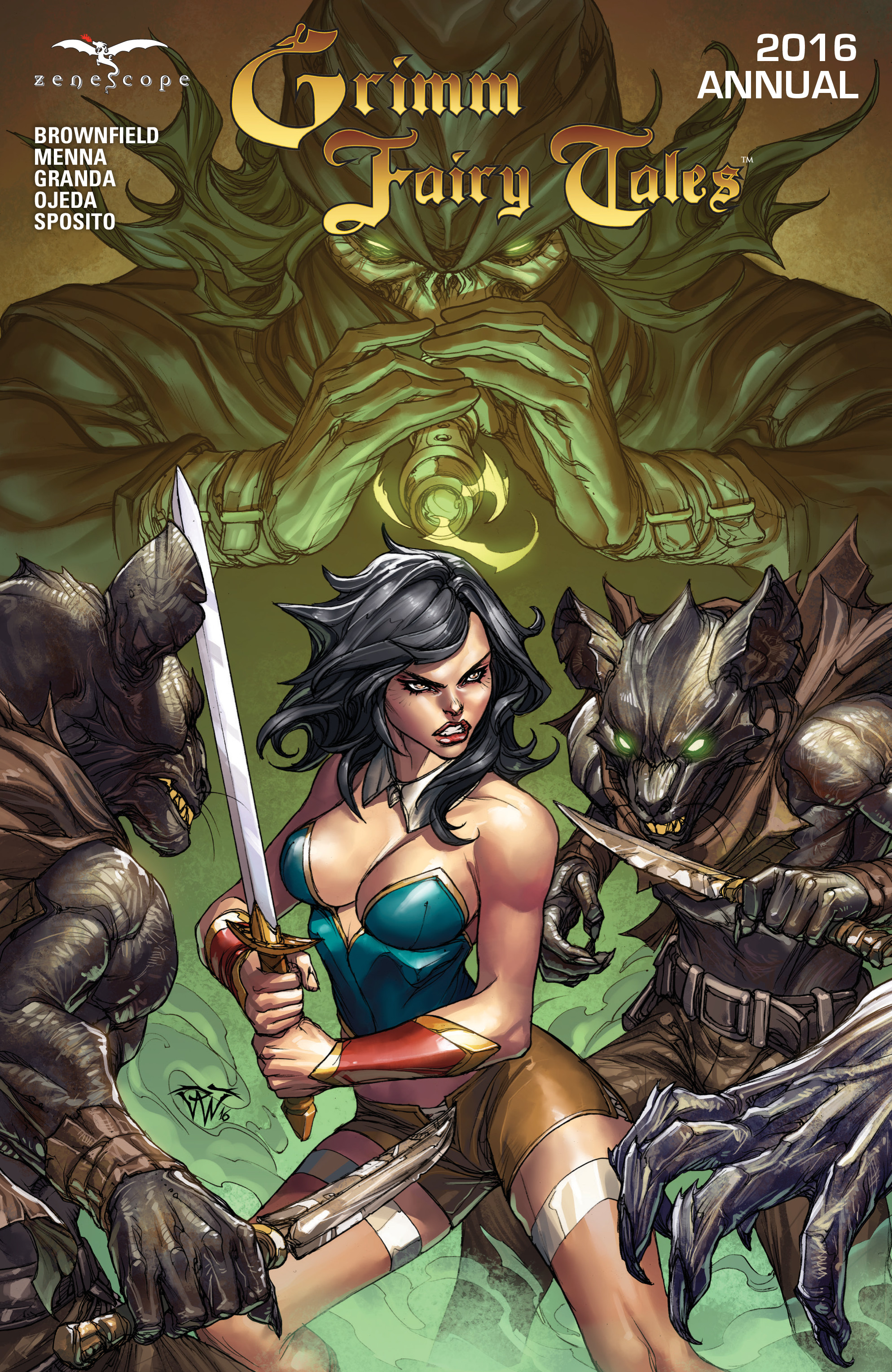 Grimm Fairy Tales (2005) Annual 1 Page 1