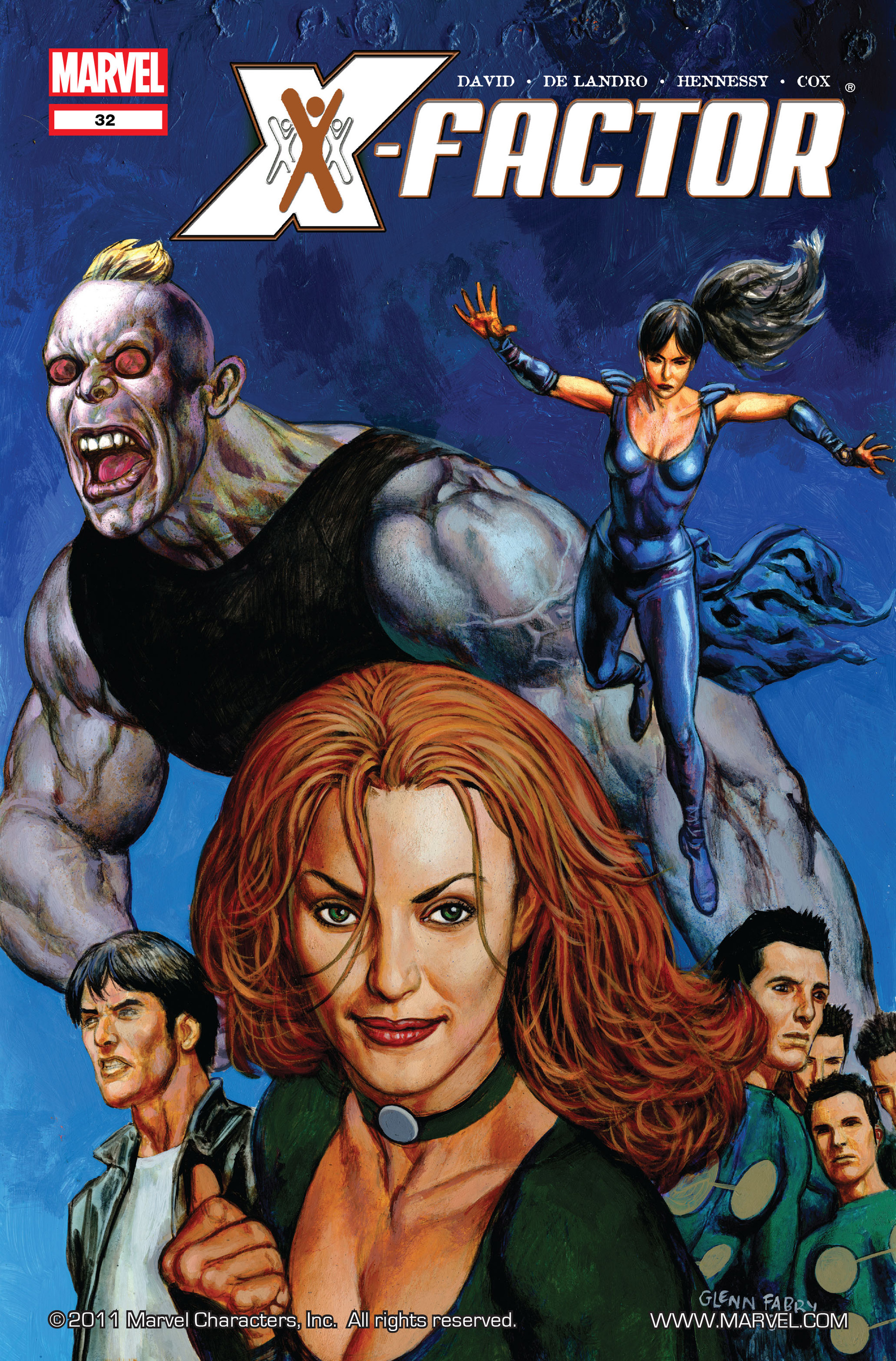 Read online X-Factor (2006) comic -  Issue #32 - 1