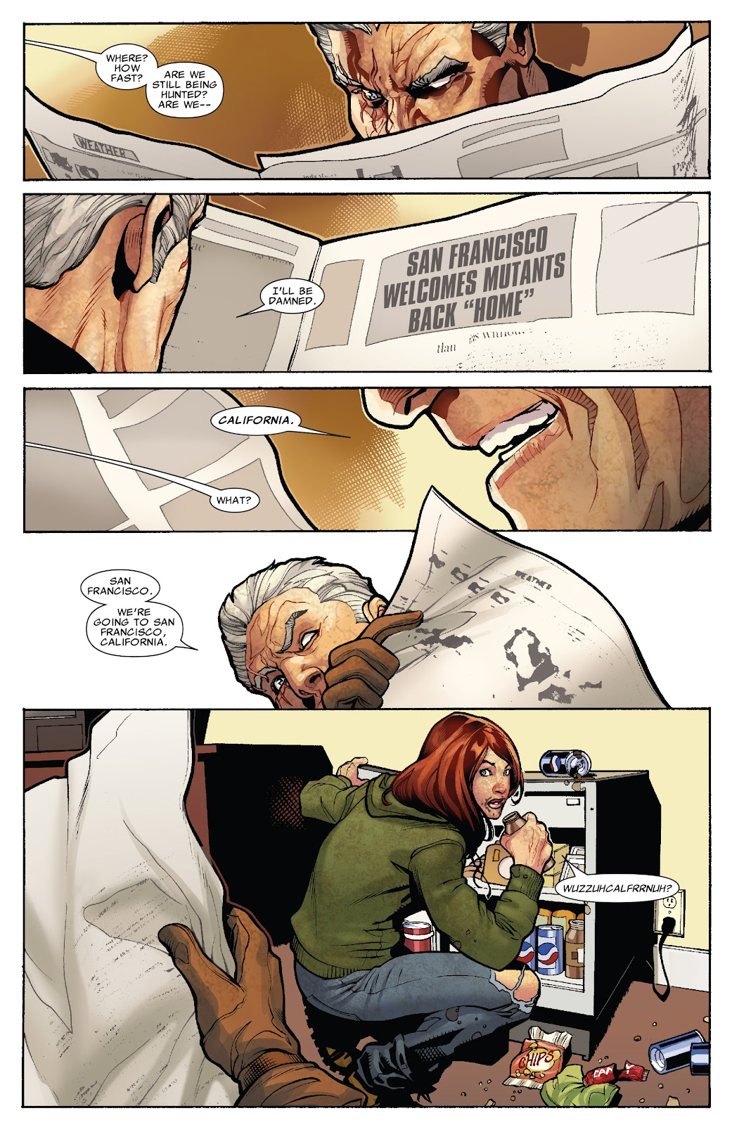 Read online X-Men: Second Coming comic -  Issue # _TPB (Part 1) - 53