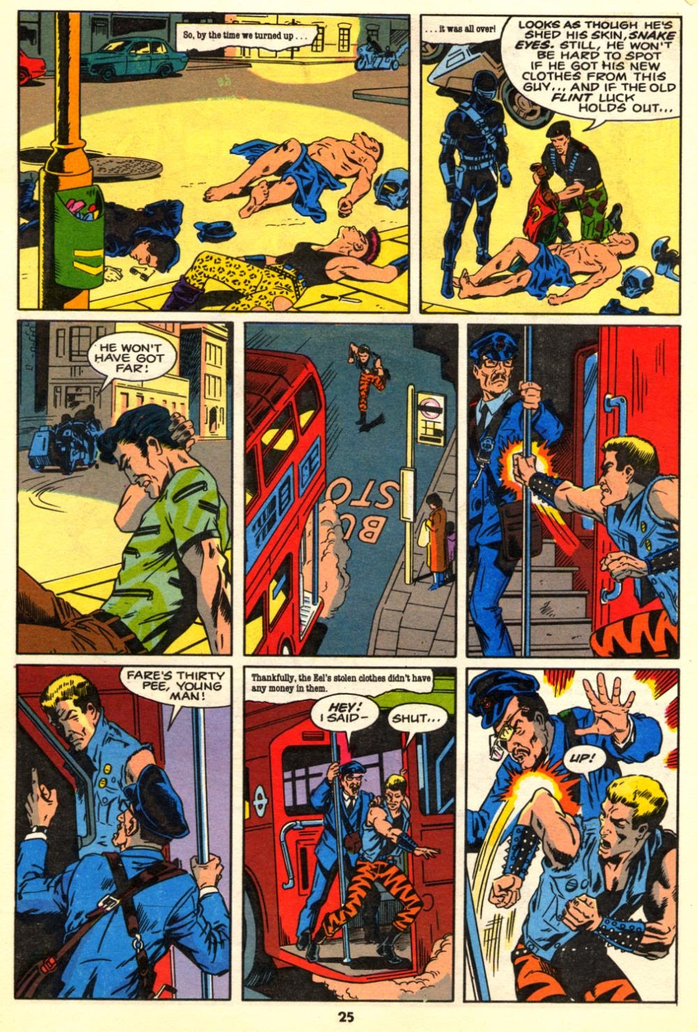 G.I. Joe European Missions issue 10 - Page 25