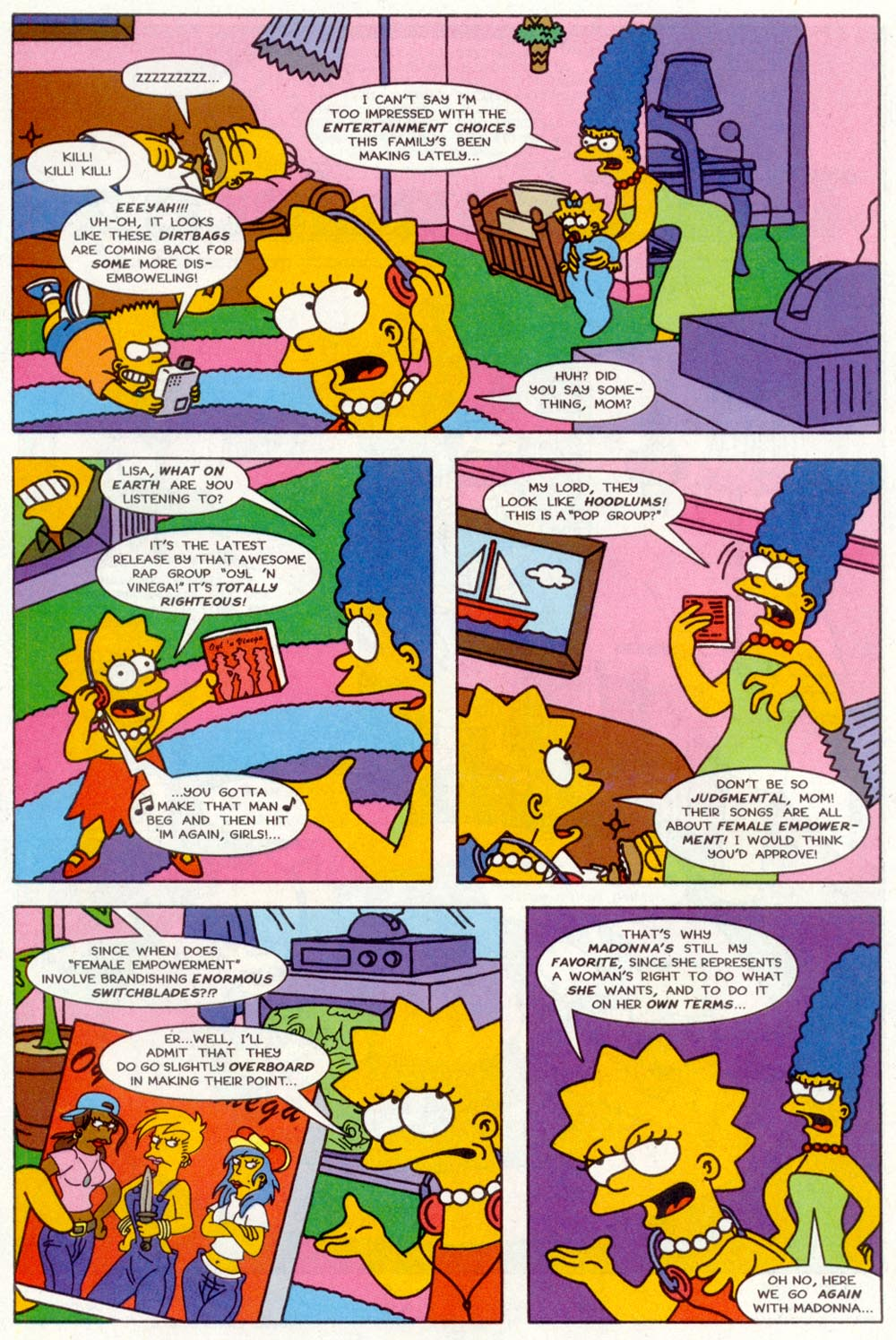 Read online Treehouse of Horror comic -  Issue #2 - 17
