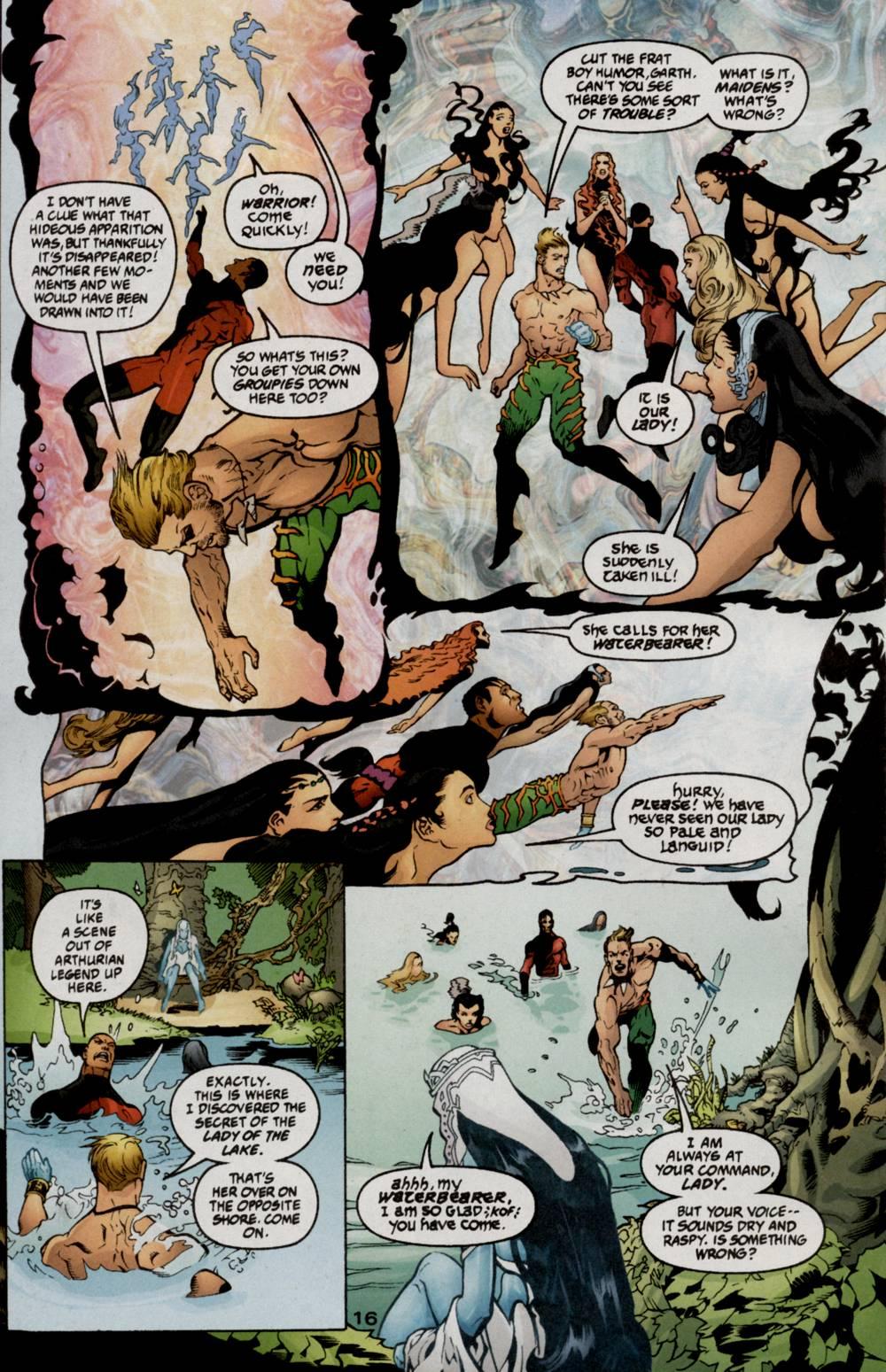 Read online Aquaman (2003) comic -  Issue #5 - 18