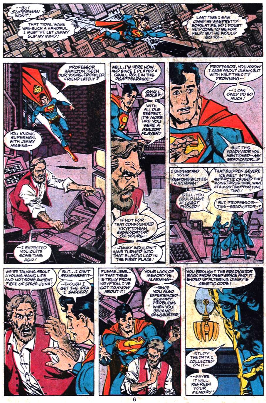 Read online Adventures of Superman (1987) comic -  Issue #461 - 7