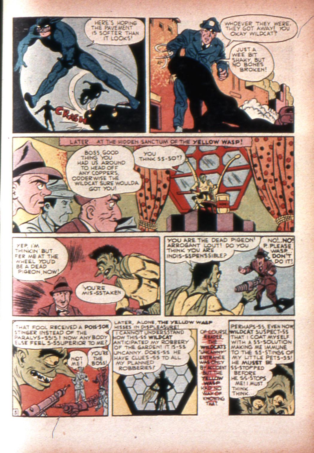 Read online Sensation (Mystery) Comics comic -  Issue #20 - 53