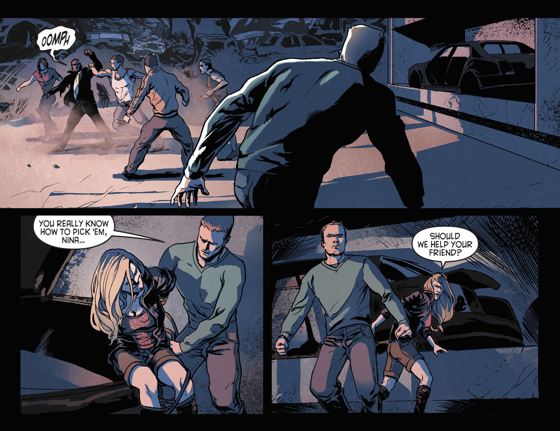 Read online Arrow [II] comic -  Issue #21 - 19
