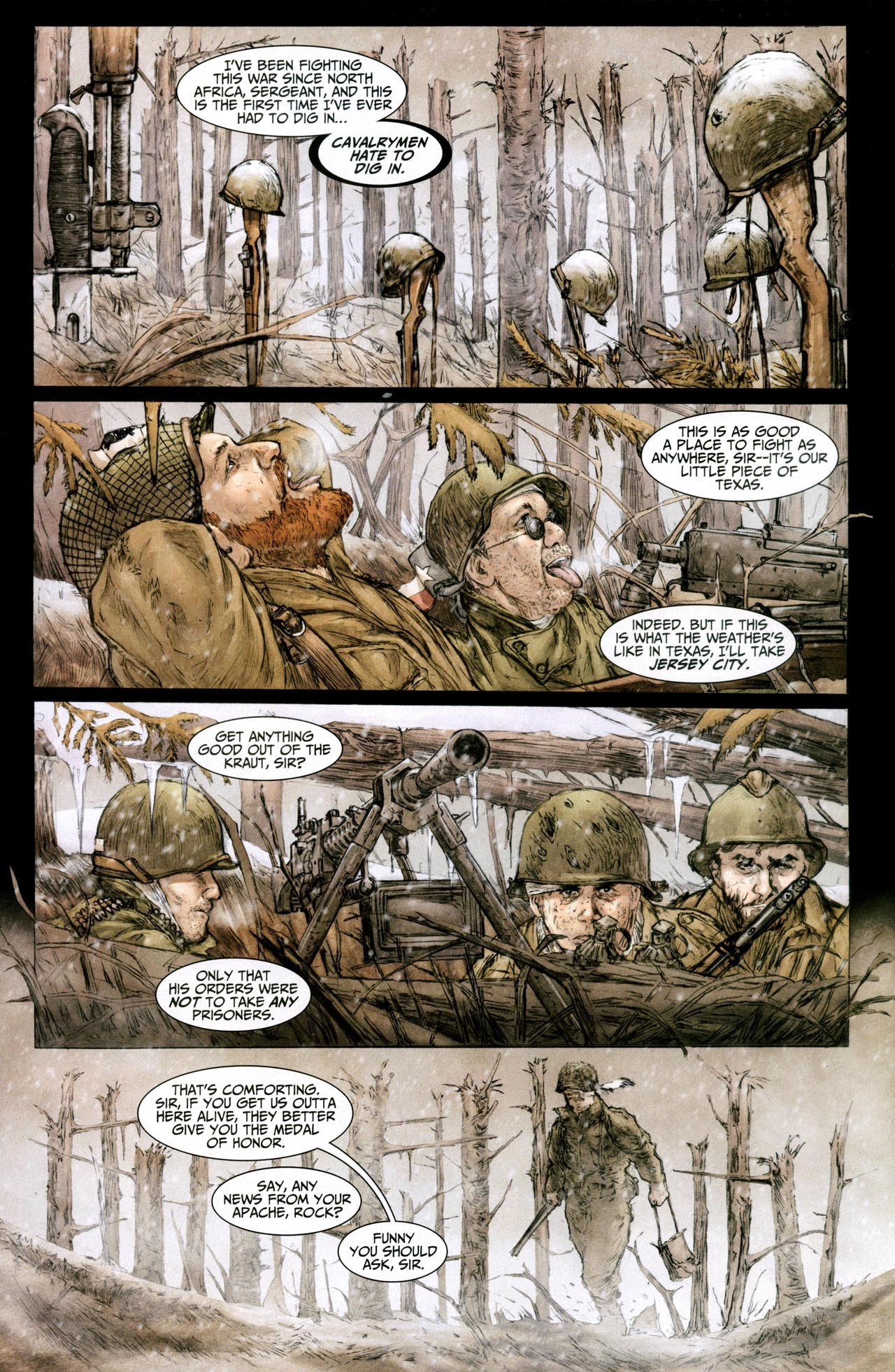 Read online Sgt. Rock: The Lost Battalion comic -  Issue #6 - 2