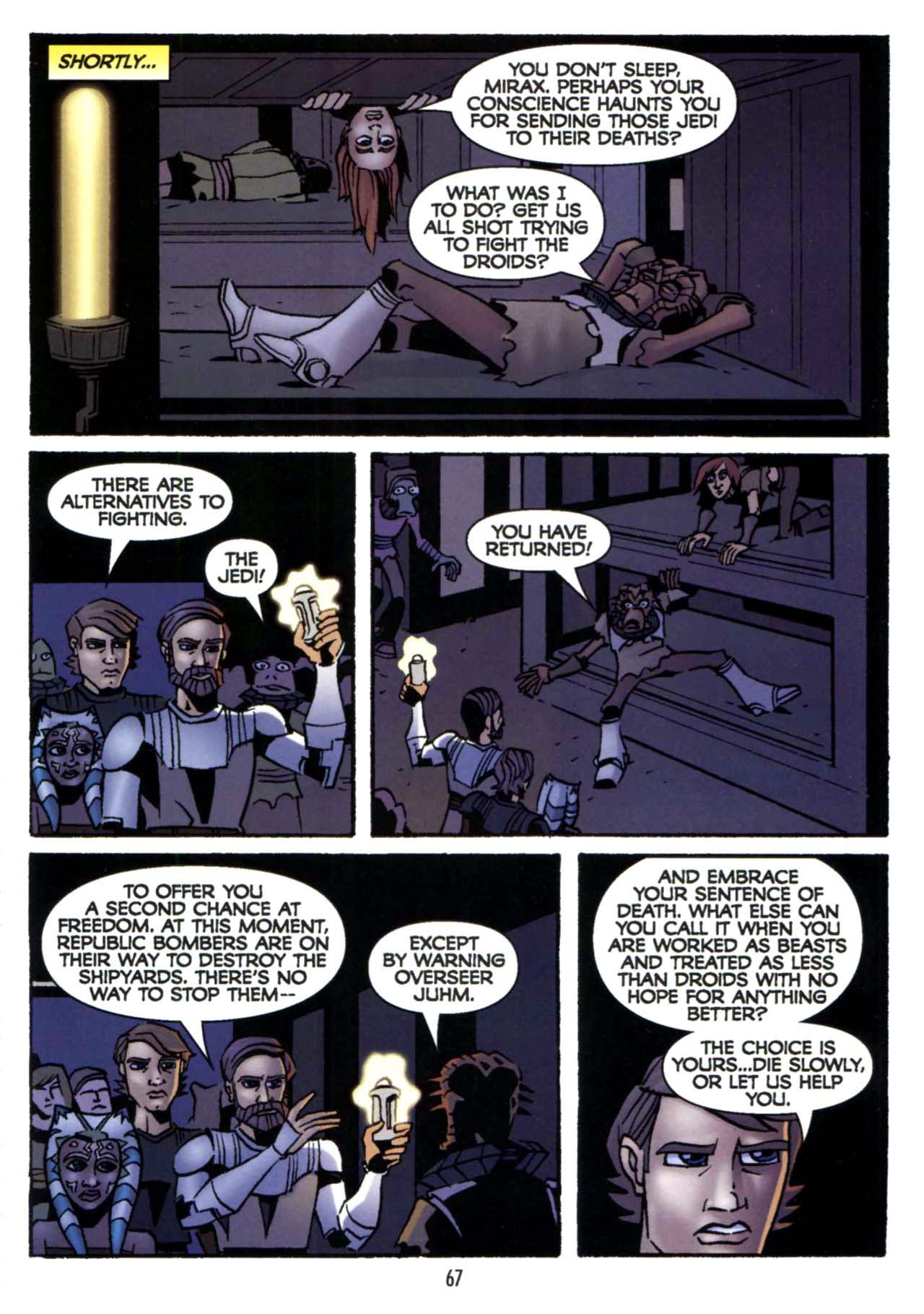 Read online Star Wars: The Clone Wars - Shipyards of Doom comic -  Issue # Full - 65