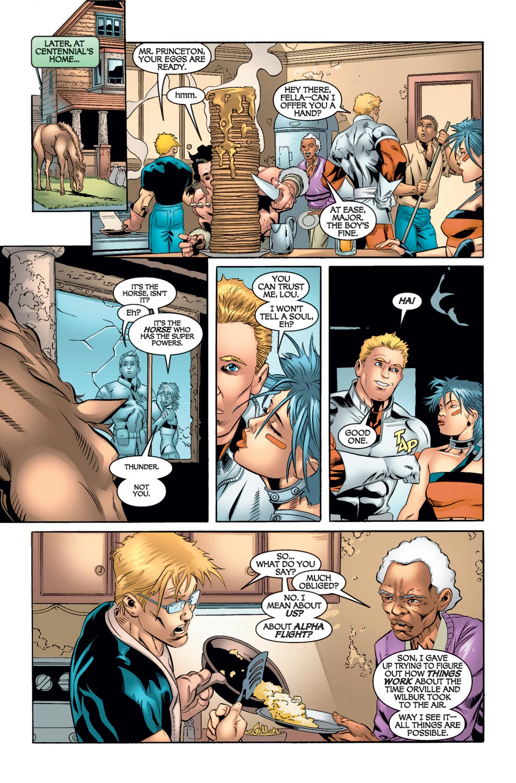 Read online Alpha Flight (2004) comic -  Issue #8 - 20