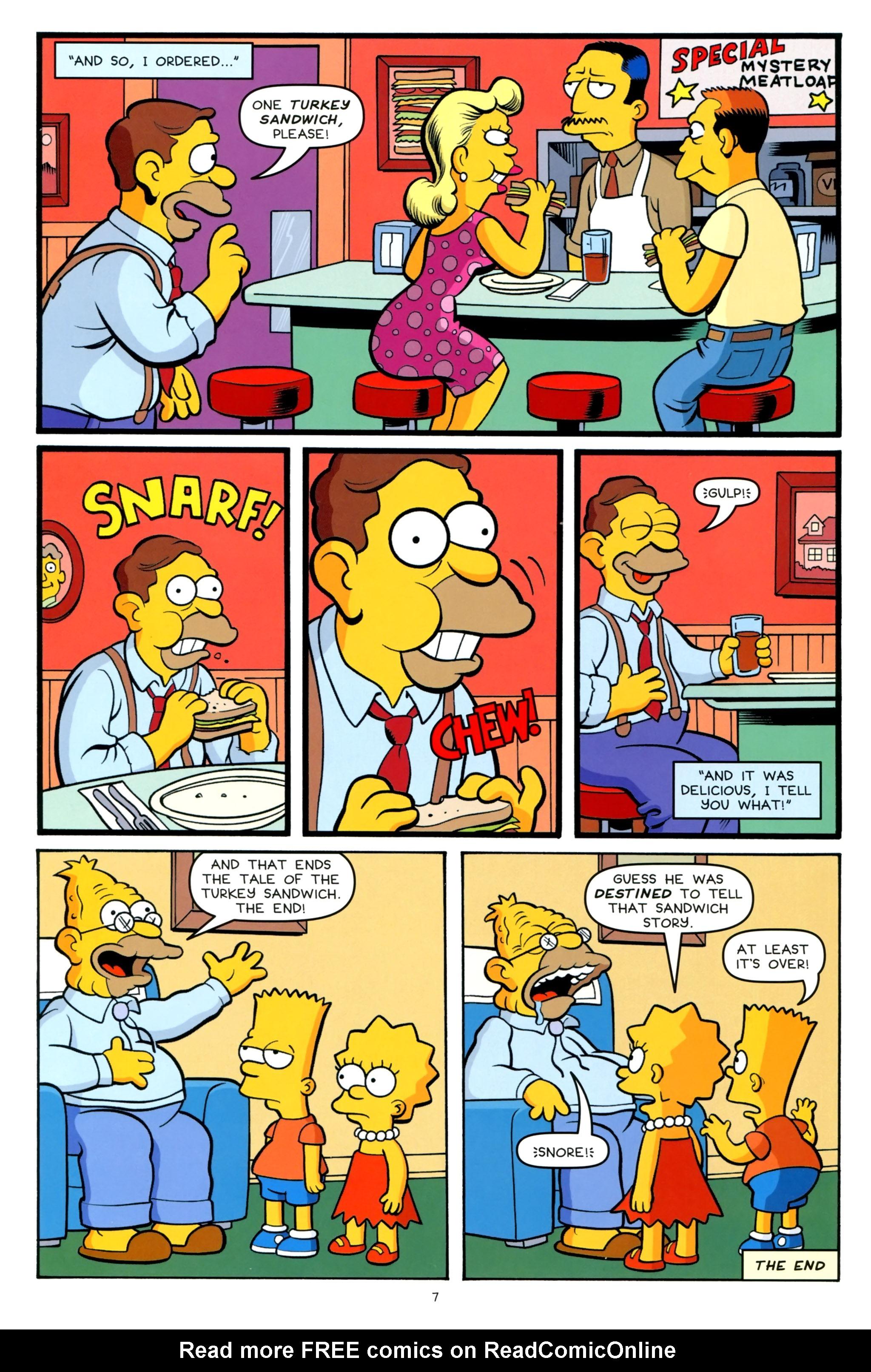 Read online Simpsons One-Shot Wonders: Grampa comic -  Issue # Full - 9