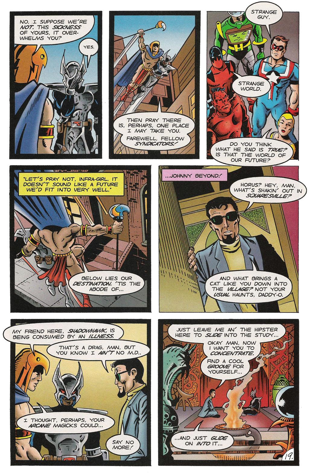 Read online ShadowHawk comic -  Issue #14 - 23