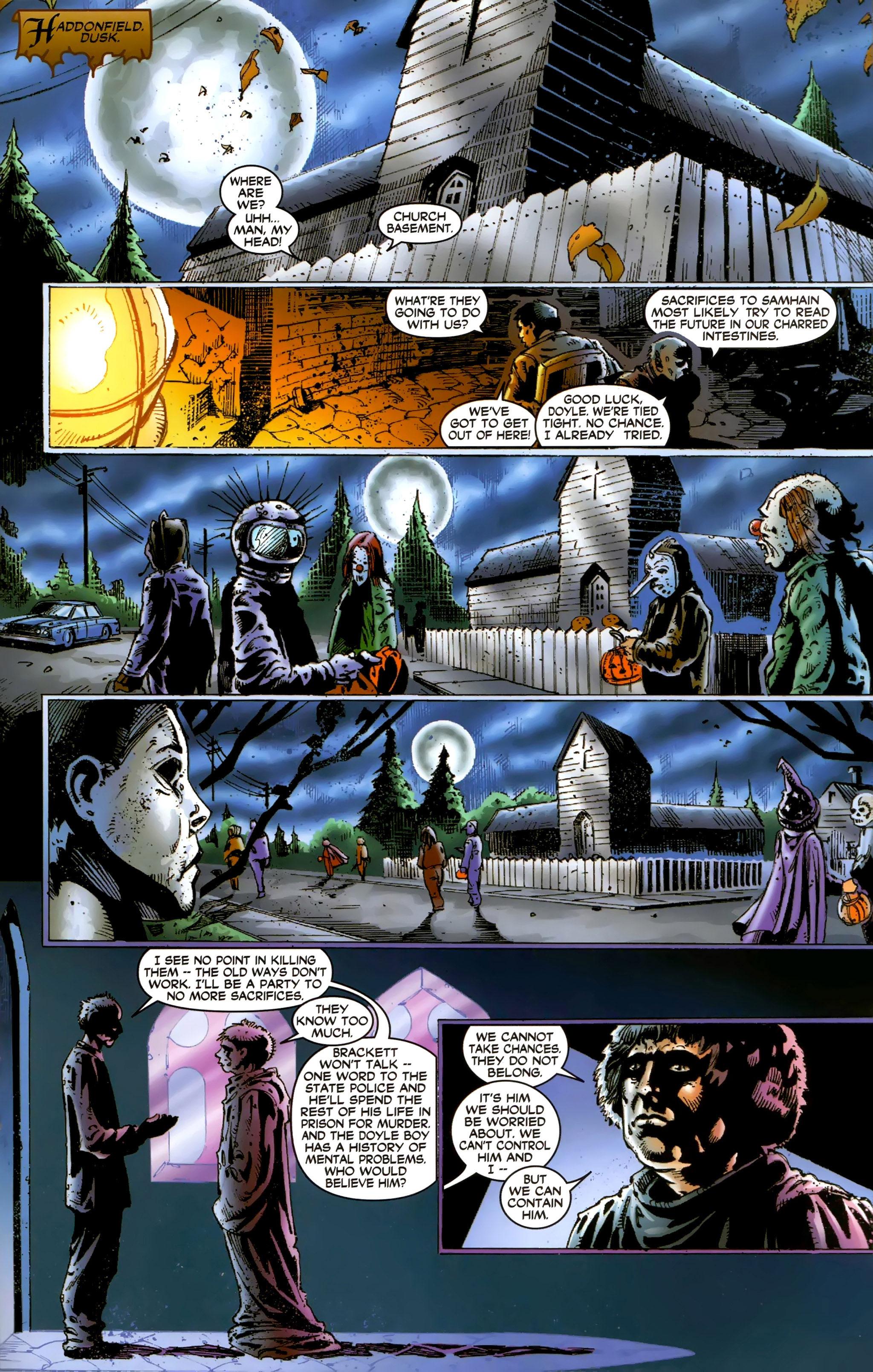 Read online Halloween II: The Blackest Eyes comic -  Issue # Full - 19