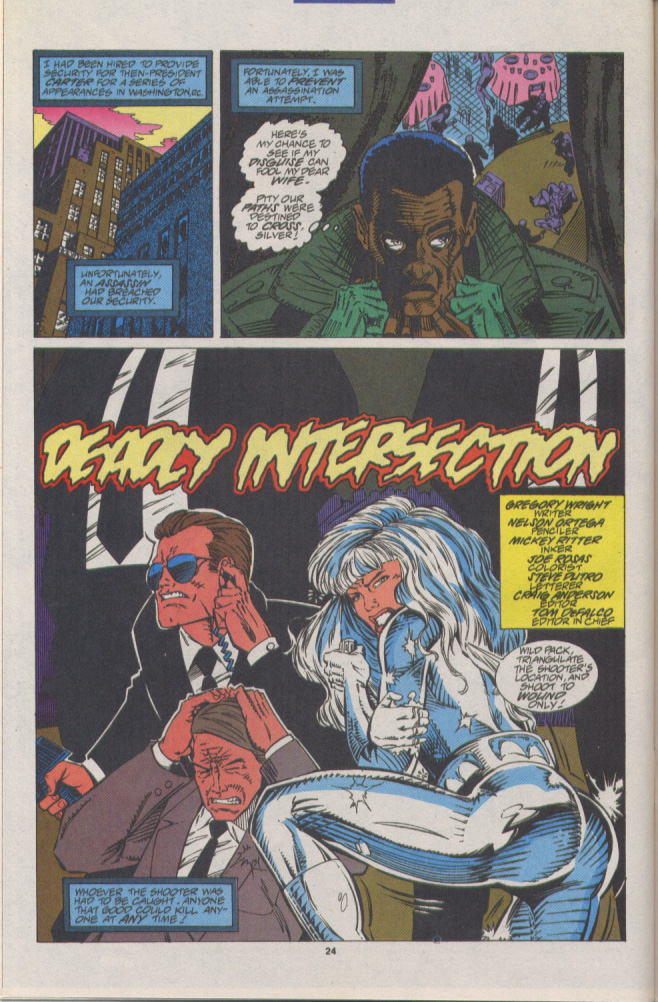 Read online Silver Sable and the Wild Pack comic -  Issue #16 - 19