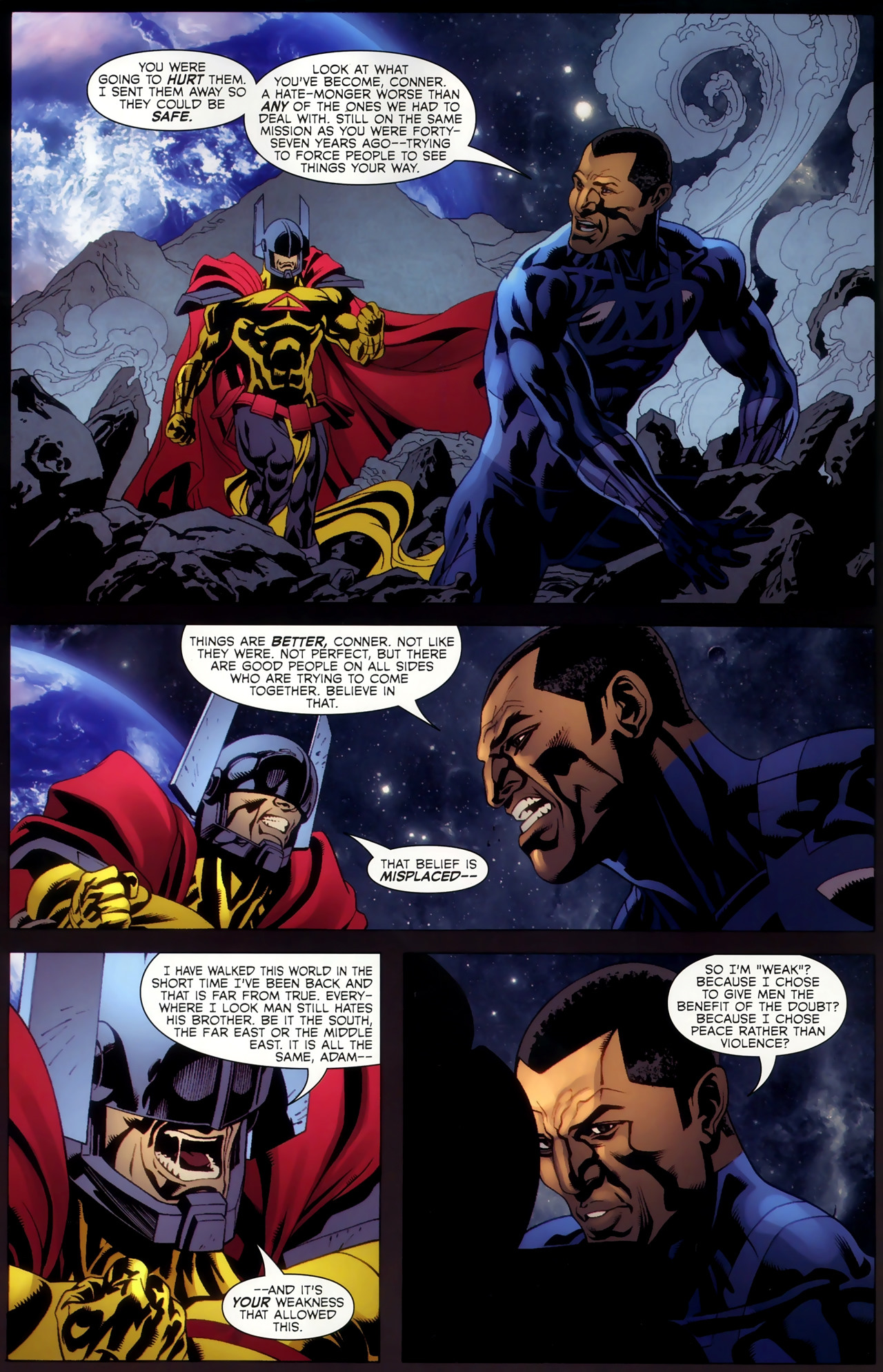 Adam: Legend of the Blue Marvel 4 Page 21