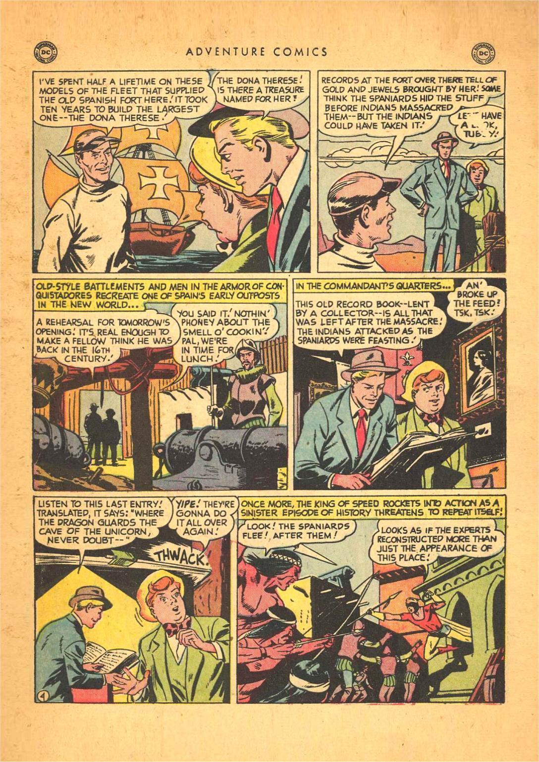 Read online Adventure Comics (1938) comic -  Issue #148 - 44