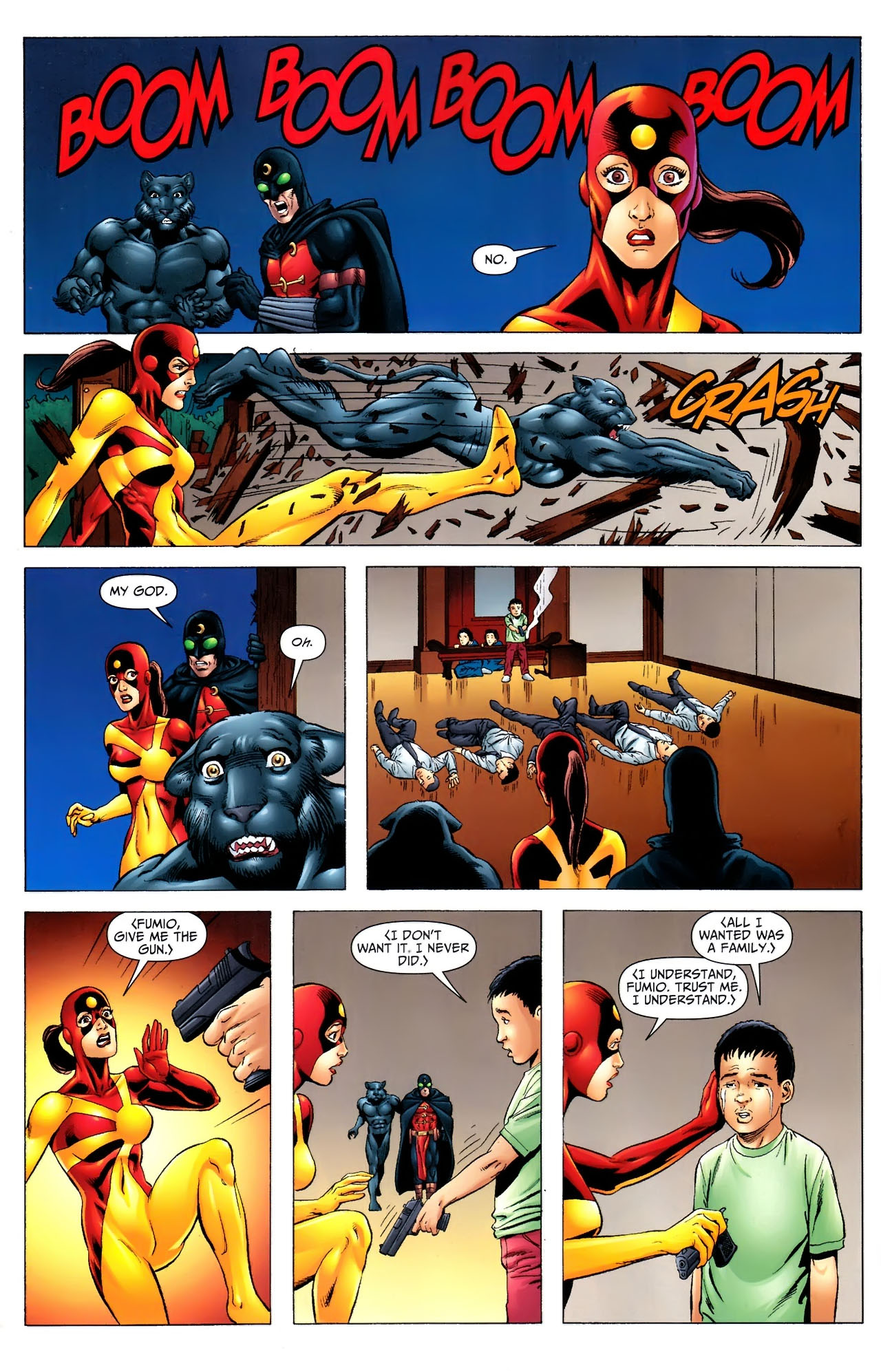 Read online JSA 80-Page Giant 2011 comic -  Issue # Full - 21