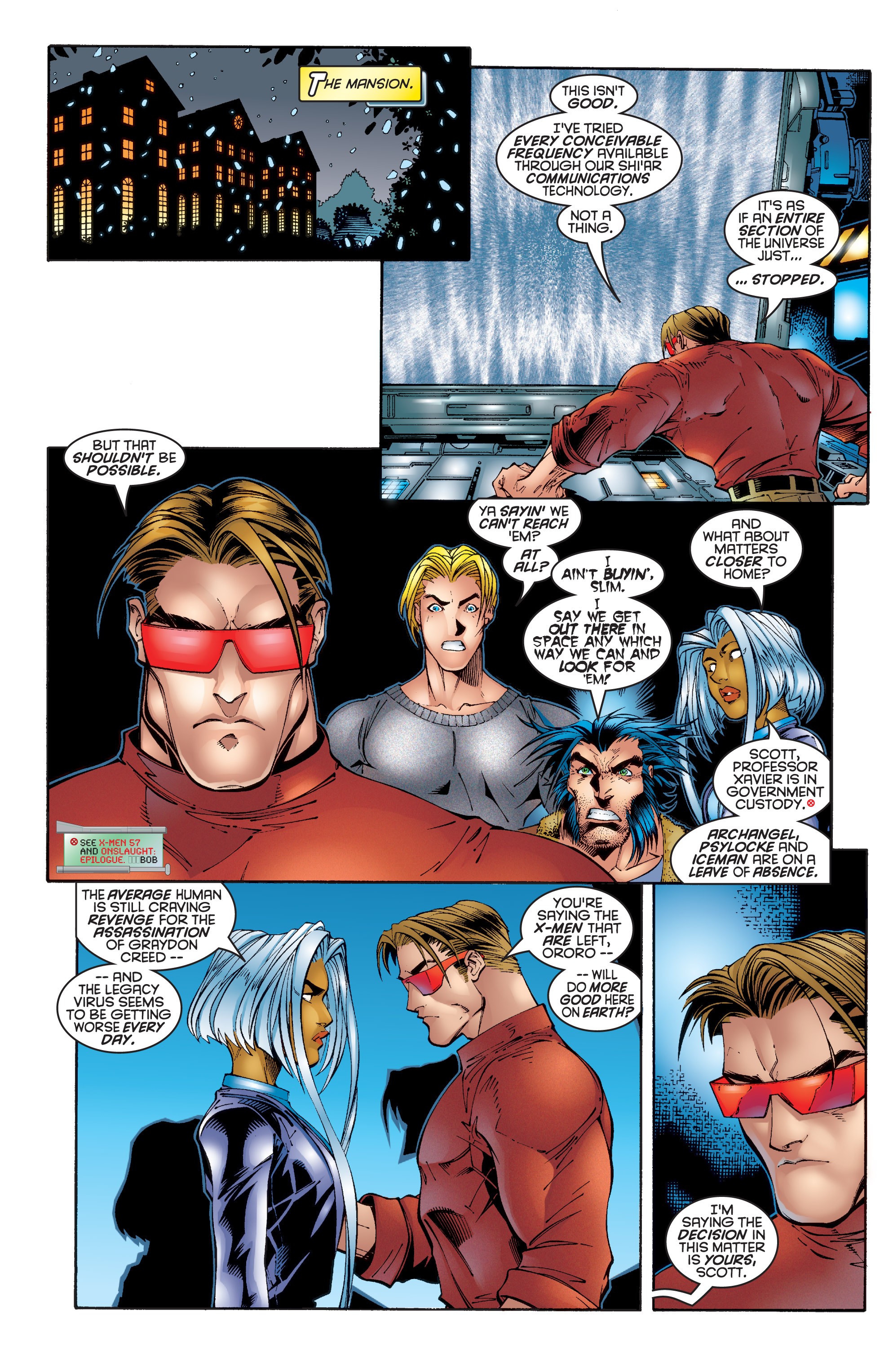 Read online Uncanny X-Men (1963) comic -  Issue #342 - 14