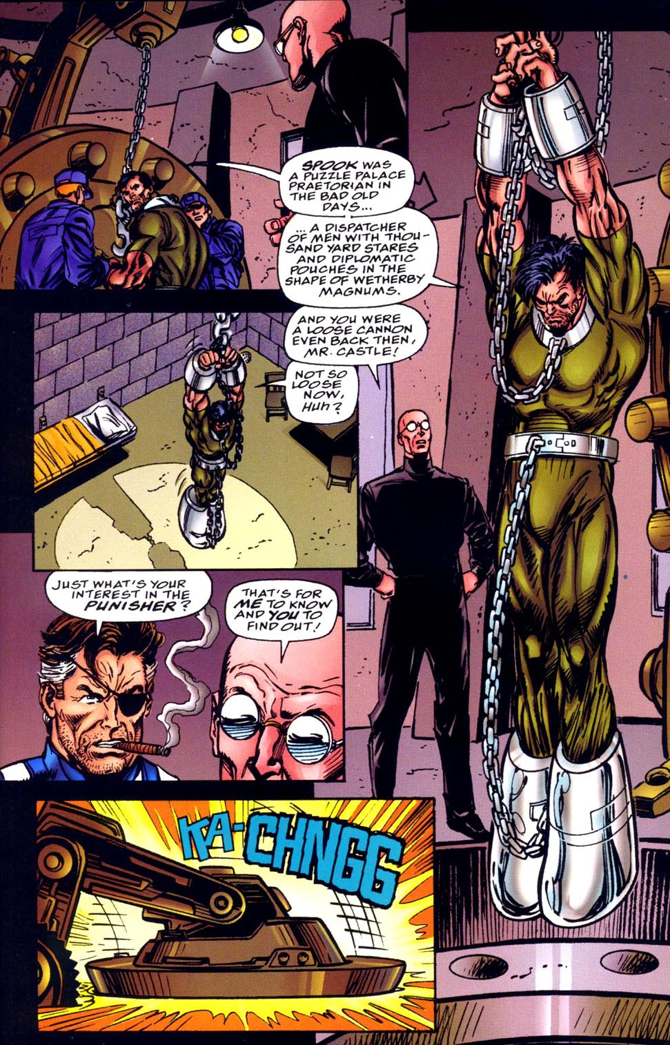 Read online Double Edge comic -  Issue # Issue Alpha - 11