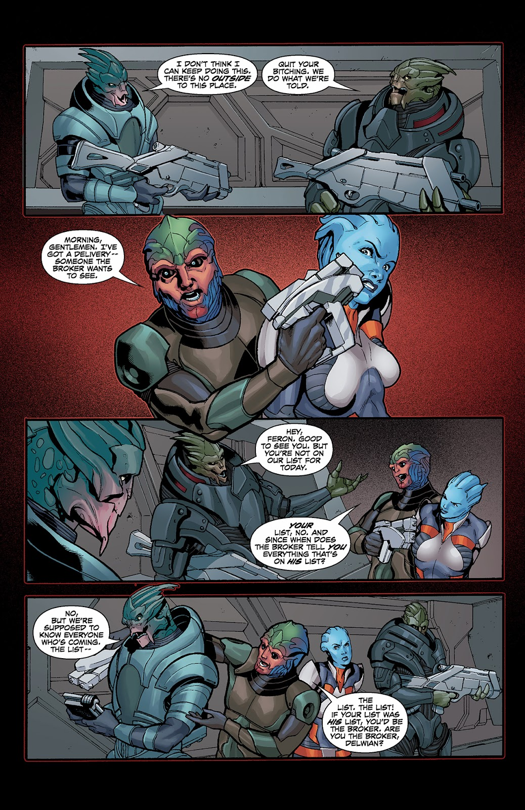 Mass Effect: Redemption Issue #3 #3 - English 14