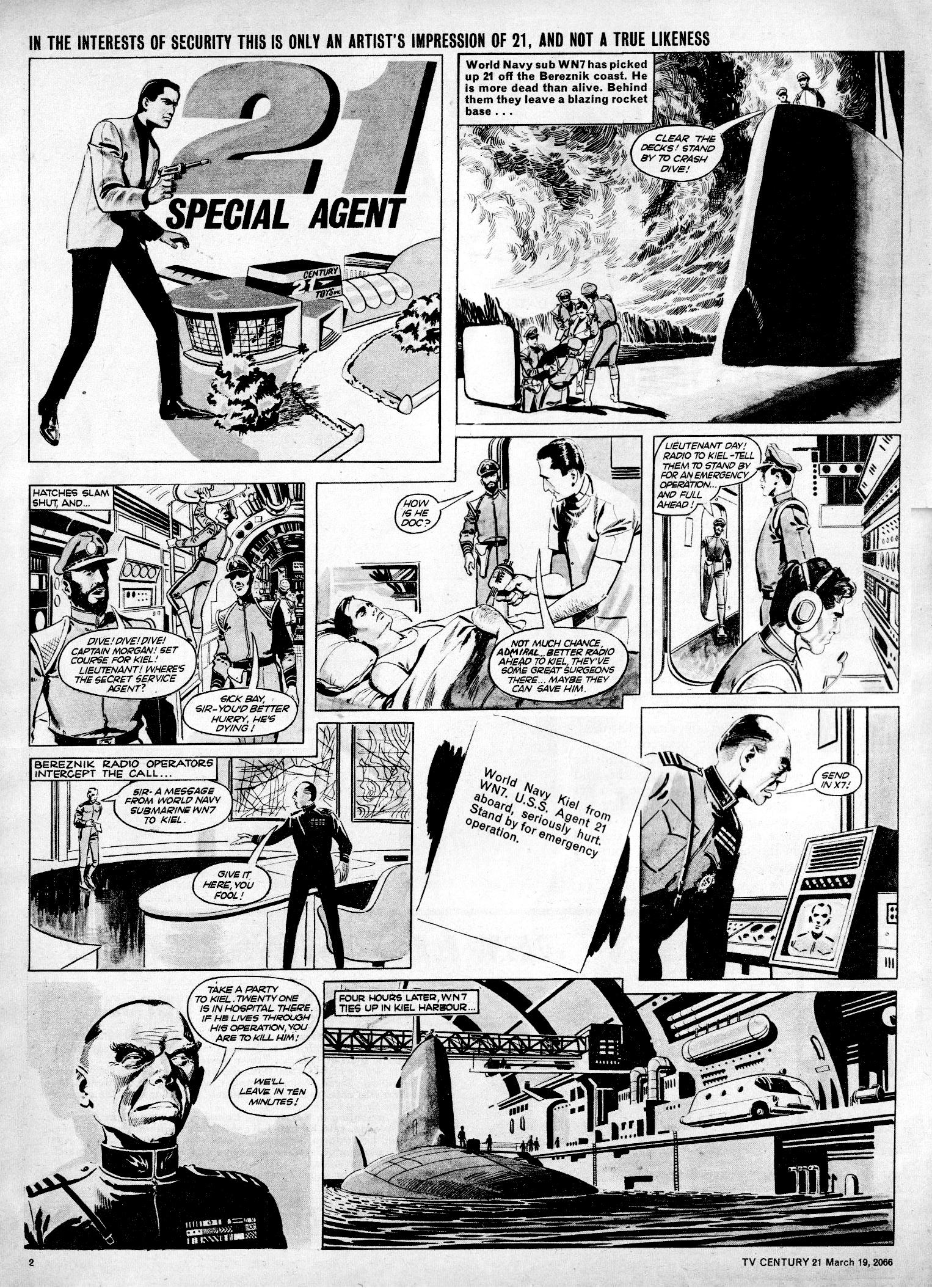 Read online TV Century 21 (TV 21) comic -  Issue #61 - 2