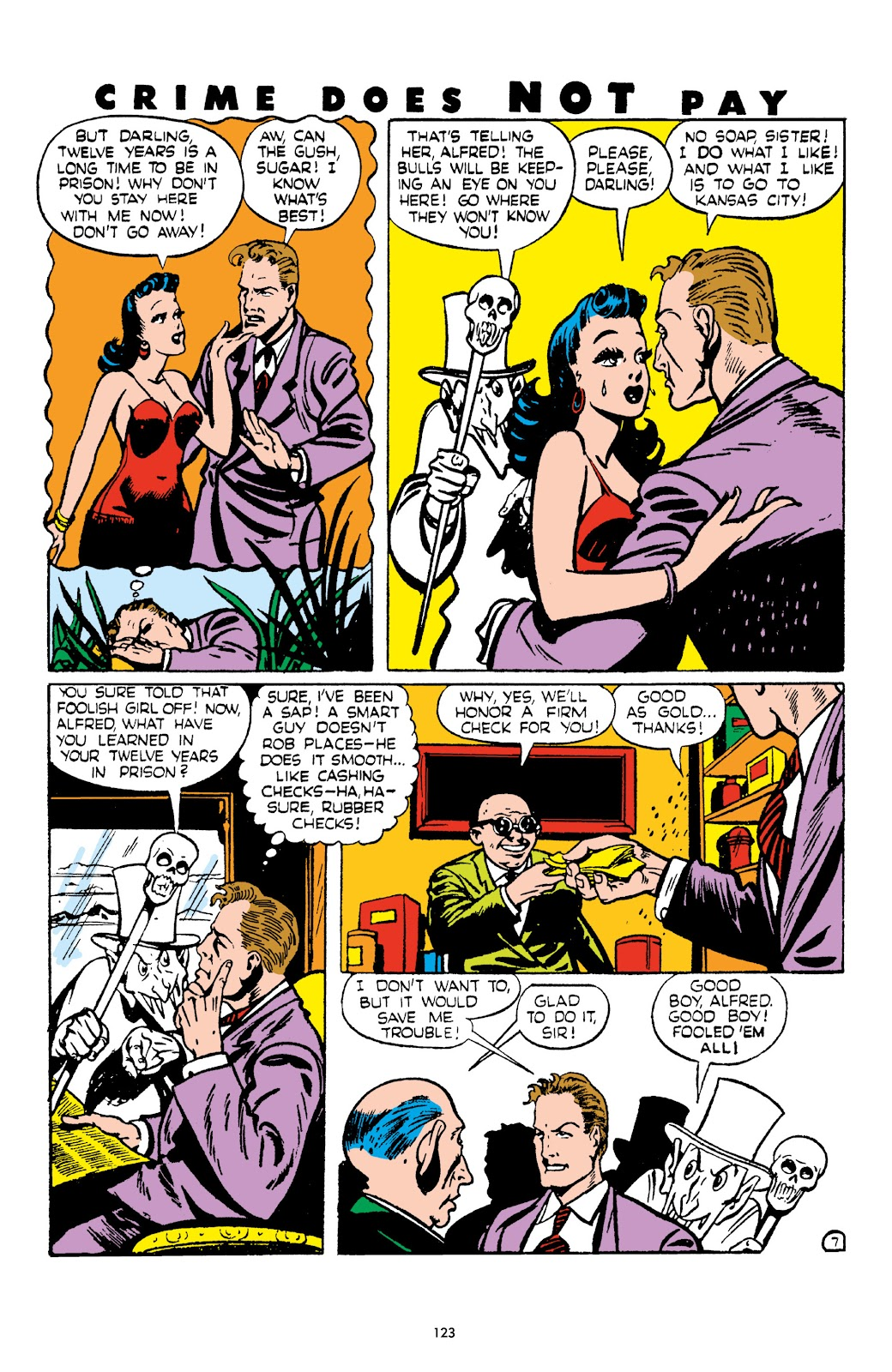 Read online Crime Does Not Pay Archives comic -  Issue # TPB 4 (Part 2) - 23