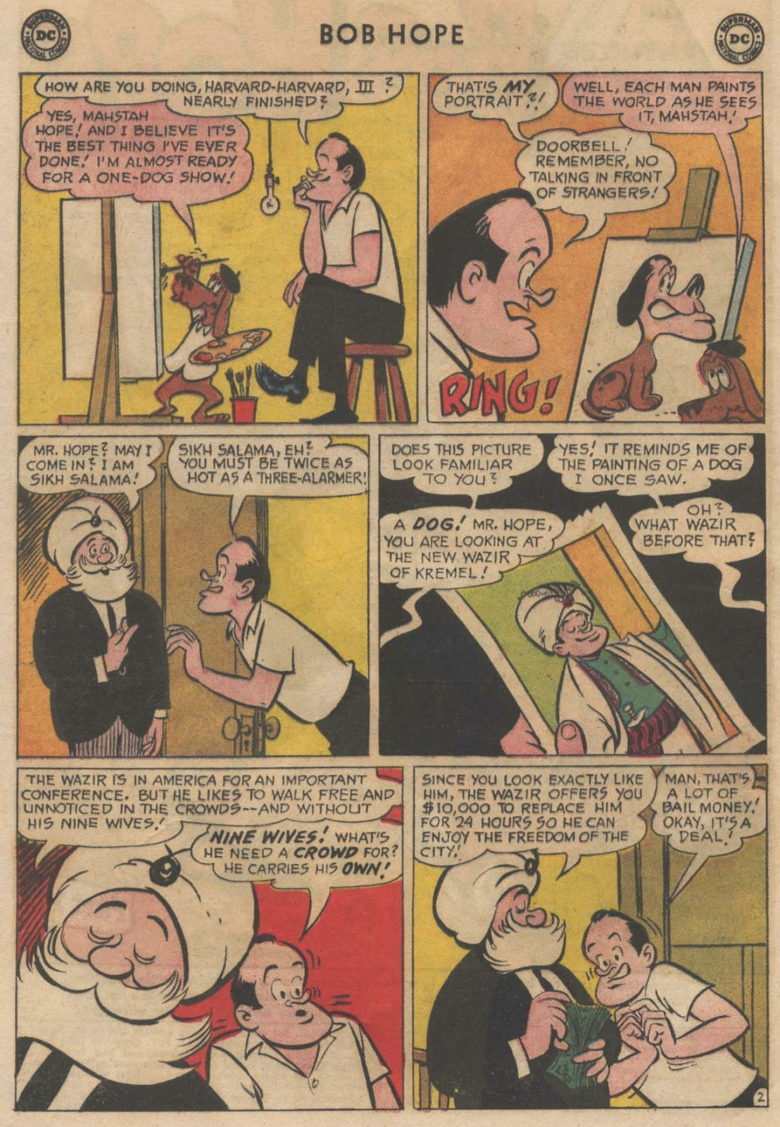 The Adventures of Bob Hope issue 90 - Page 4