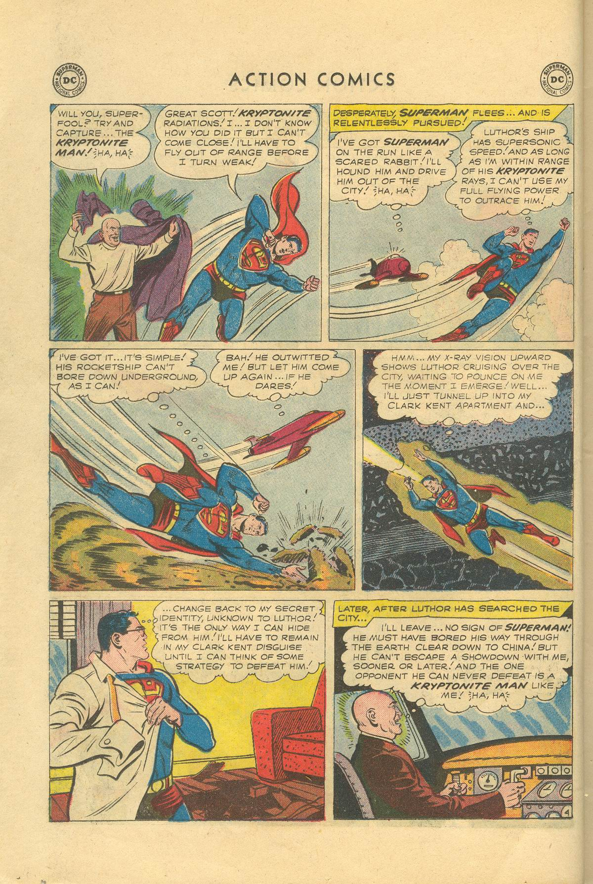 Read online Action Comics (1938) comic -  Issue #249 - 6