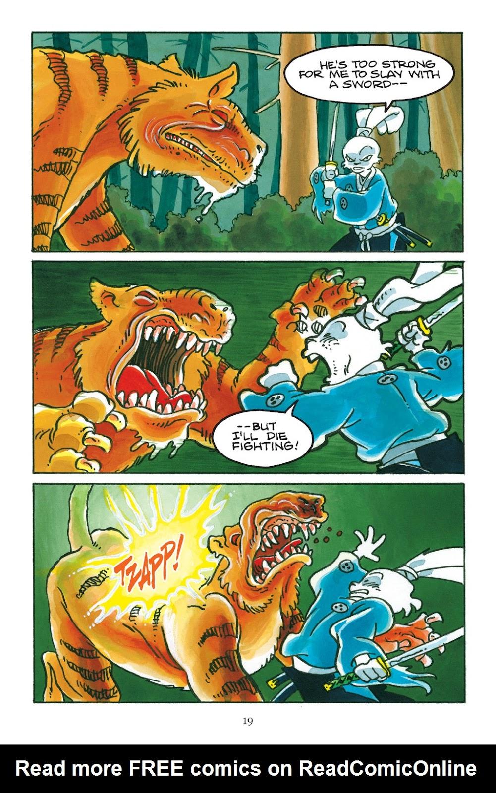 Read online Usagi Yojimbo: Yokai comic -  Issue # Full - 20