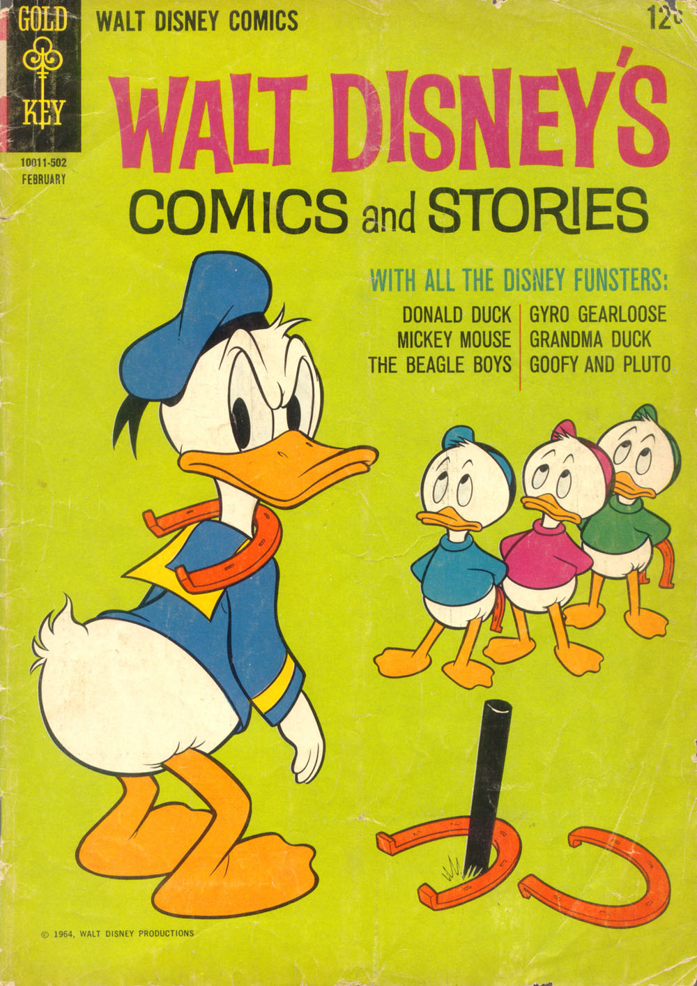 Walt Disney's Comics and Stories issue 293 - Page 1