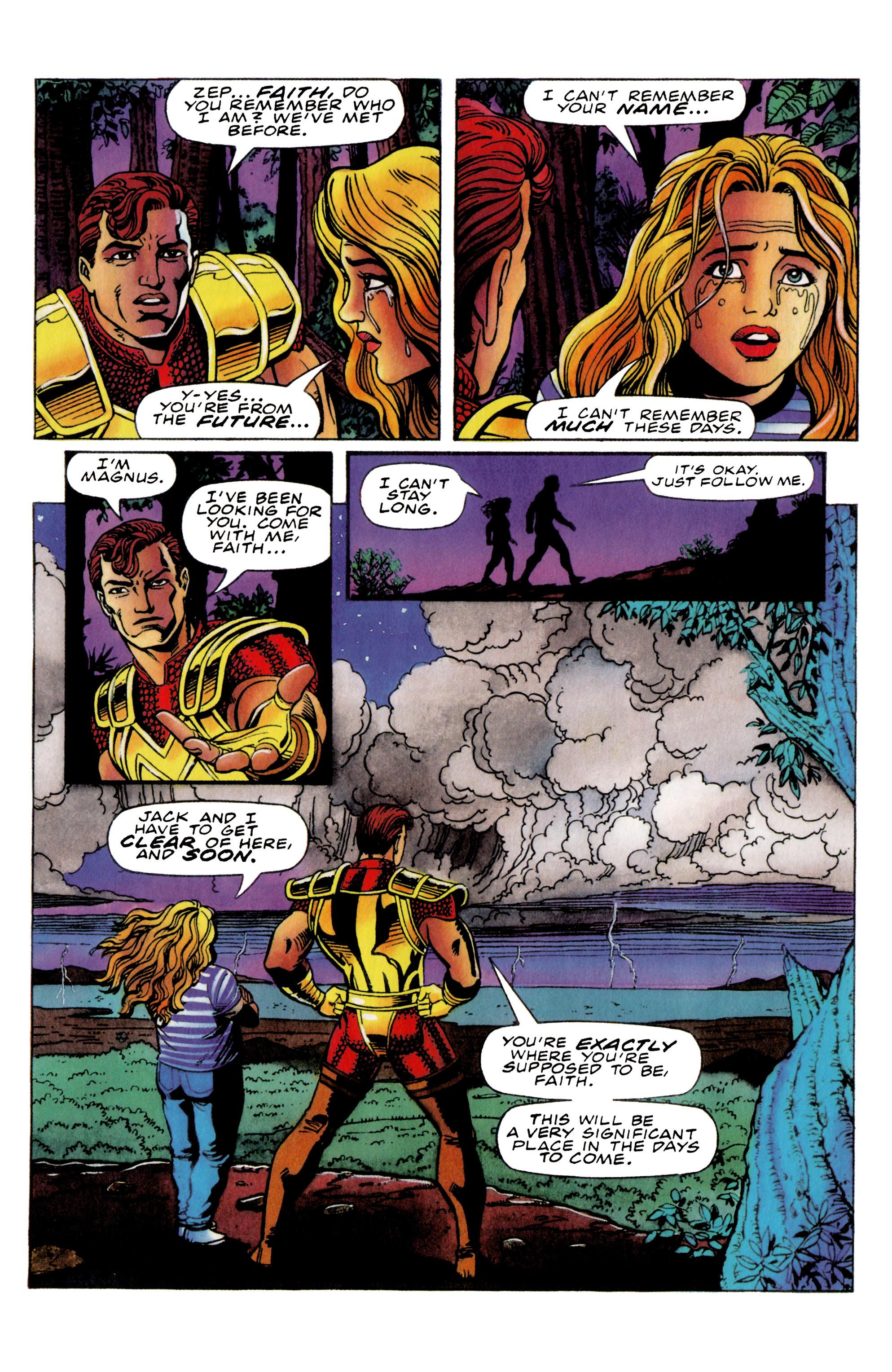 Read online Harbinger (1992) comic -  Issue #36 - 11