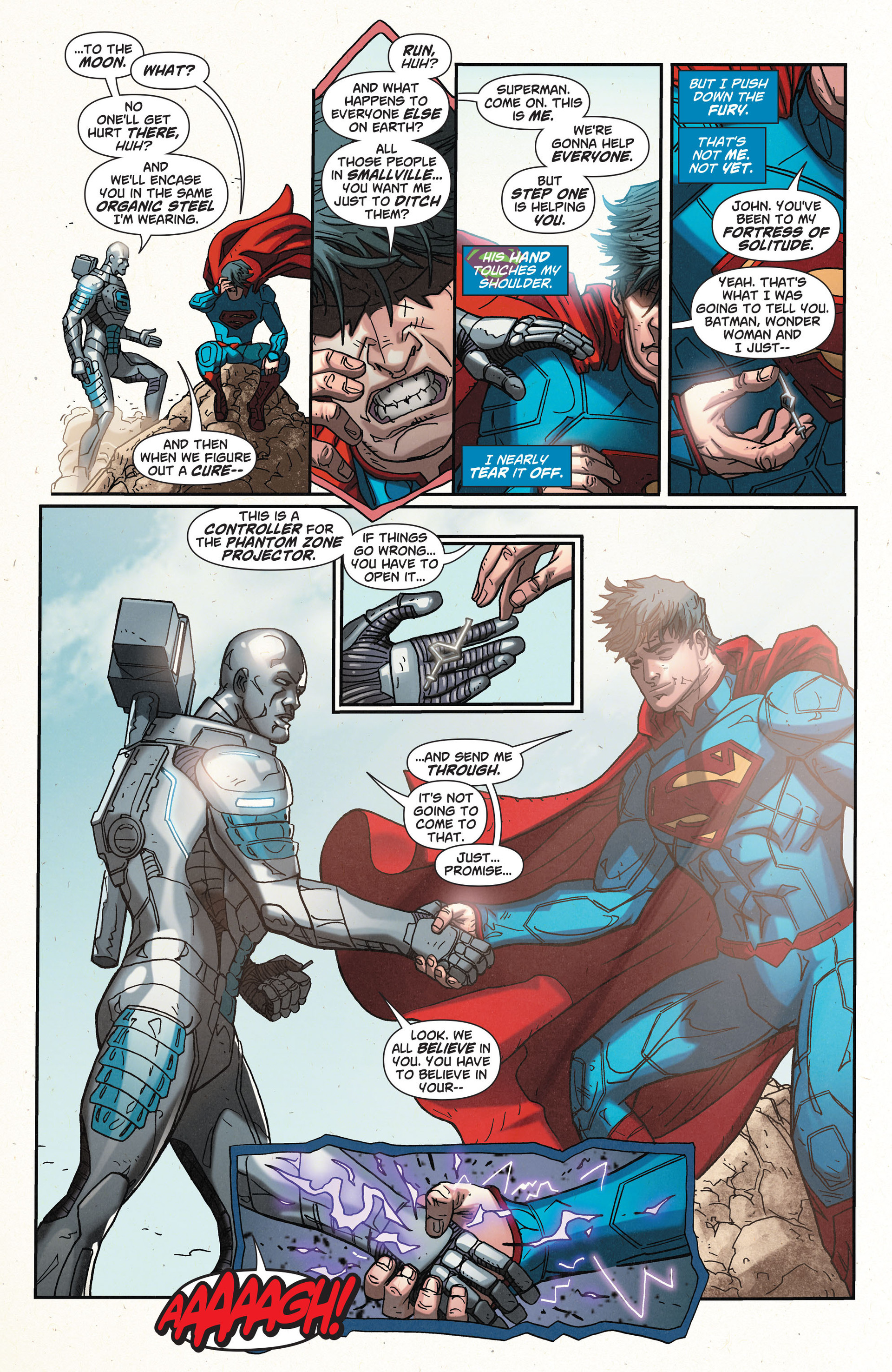 Read online Action Comics (2011) comic -  Issue #32 - 12