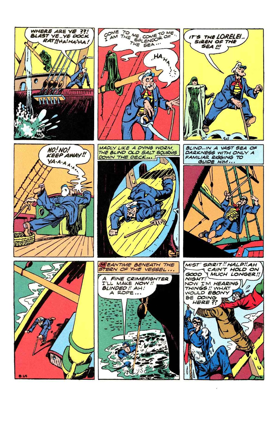 Read online Will Eisner's The Spirit Archives comic -  Issue # TPB 3 (Part 1) - 63