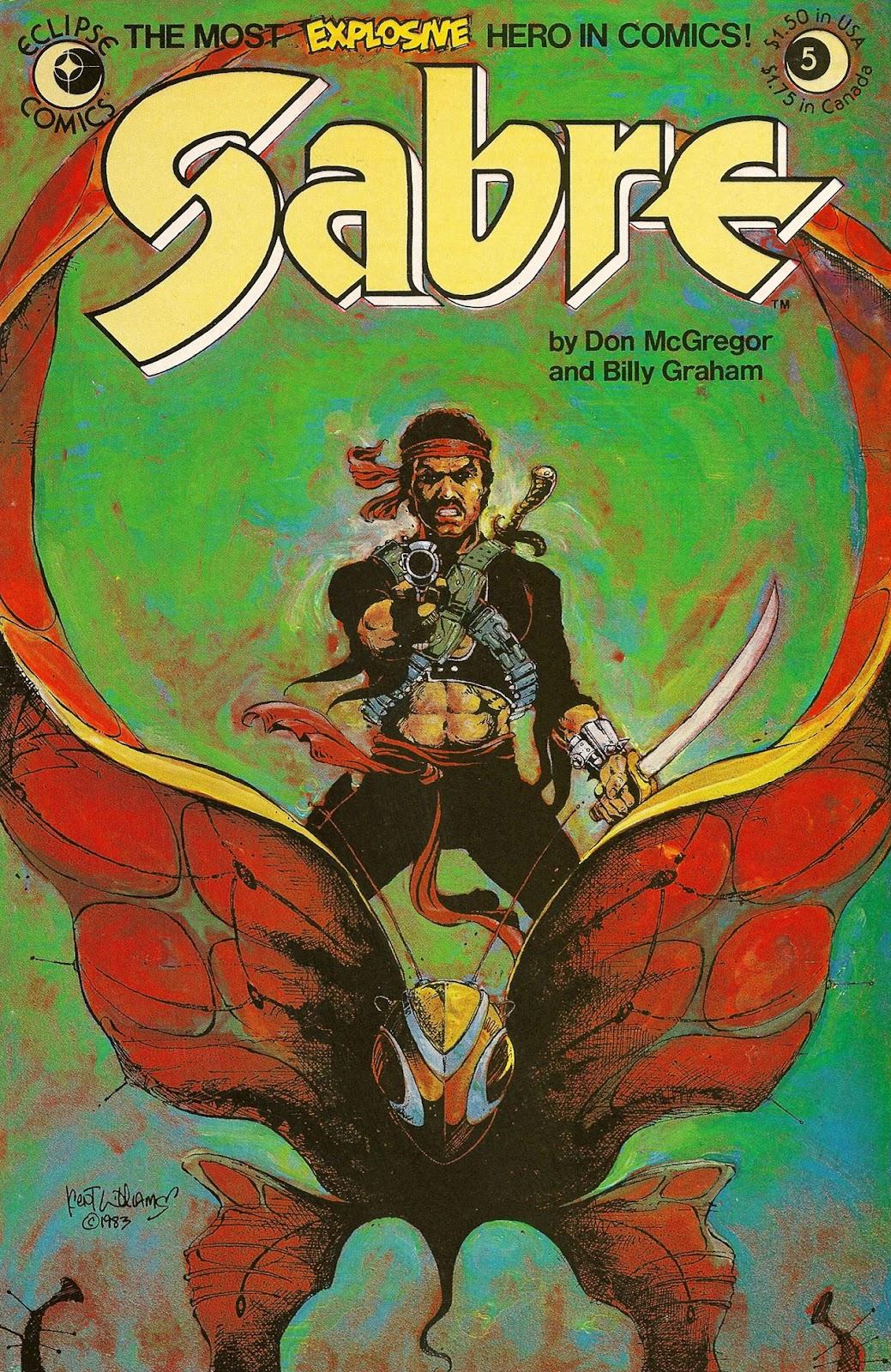 Sabre (1982) 5 Page 1