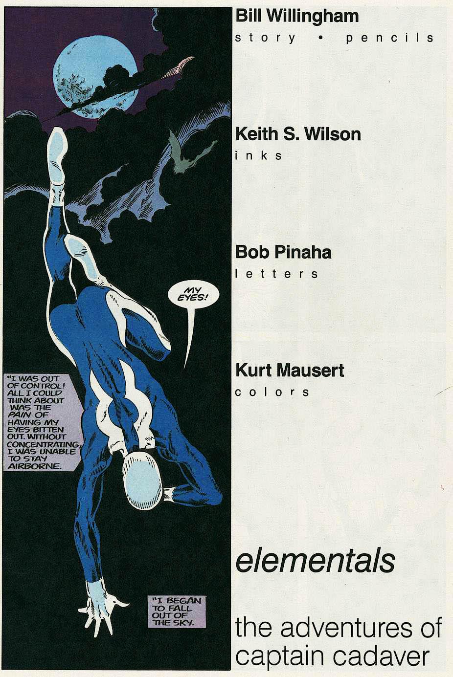 Elementals (1984) issue 17 - Page 3