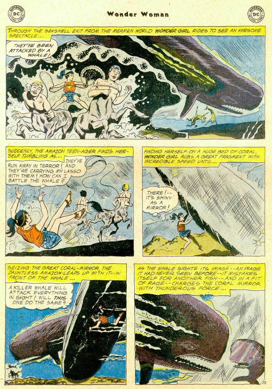 Read online Wonder Woman (1942) comic -  Issue #111 - 31