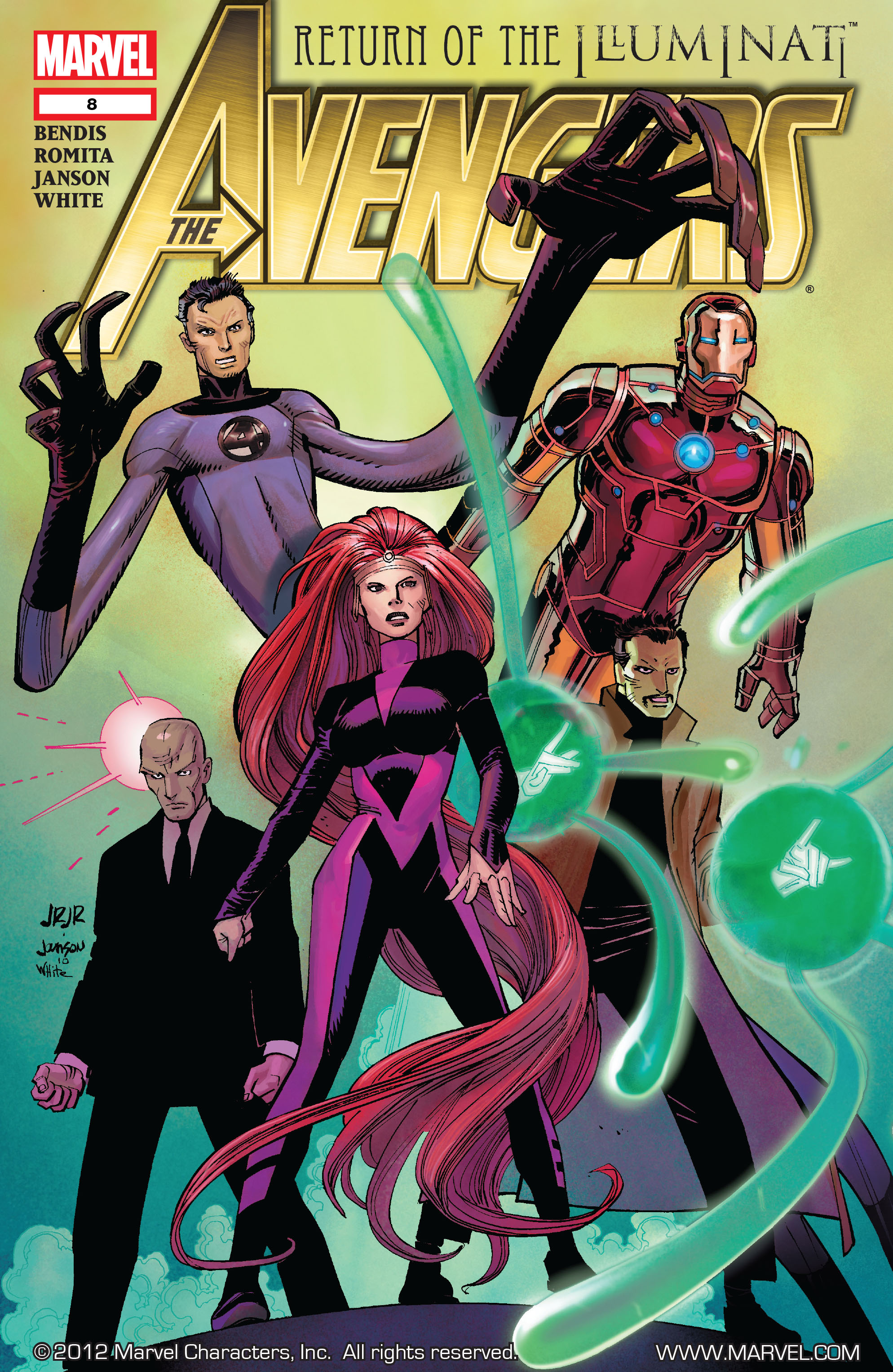 Read online Avengers (2010) comic -  Issue #8 - 1