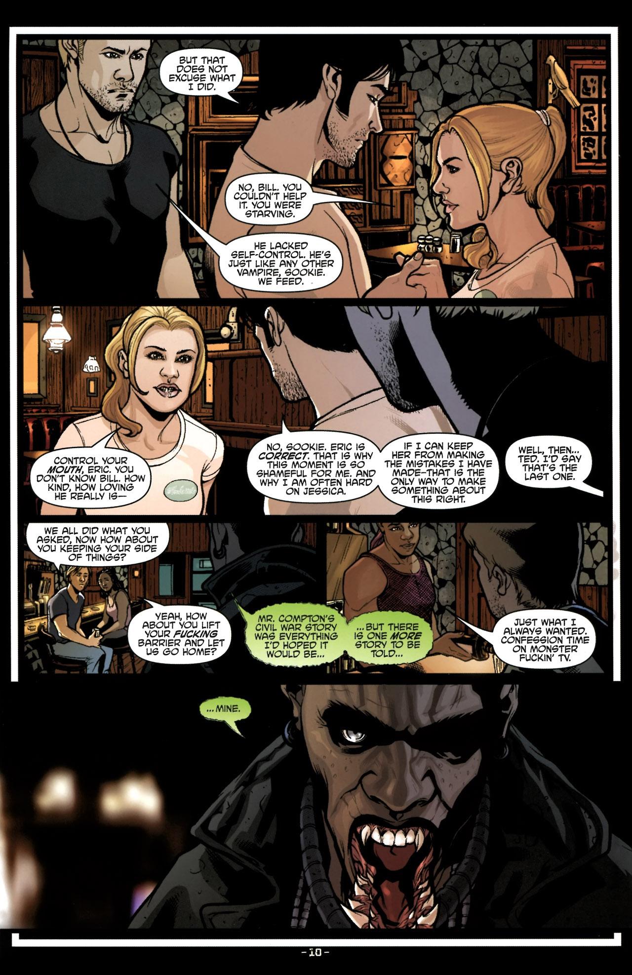 Read online True Blood (2010) comic -  Issue #6 - 13