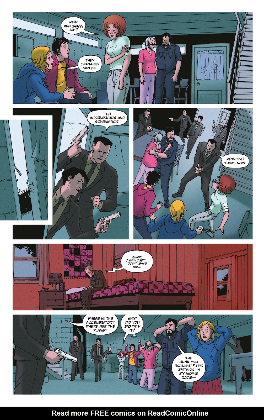 Read online She Could Fly comic -  Issue # _TPB - 120