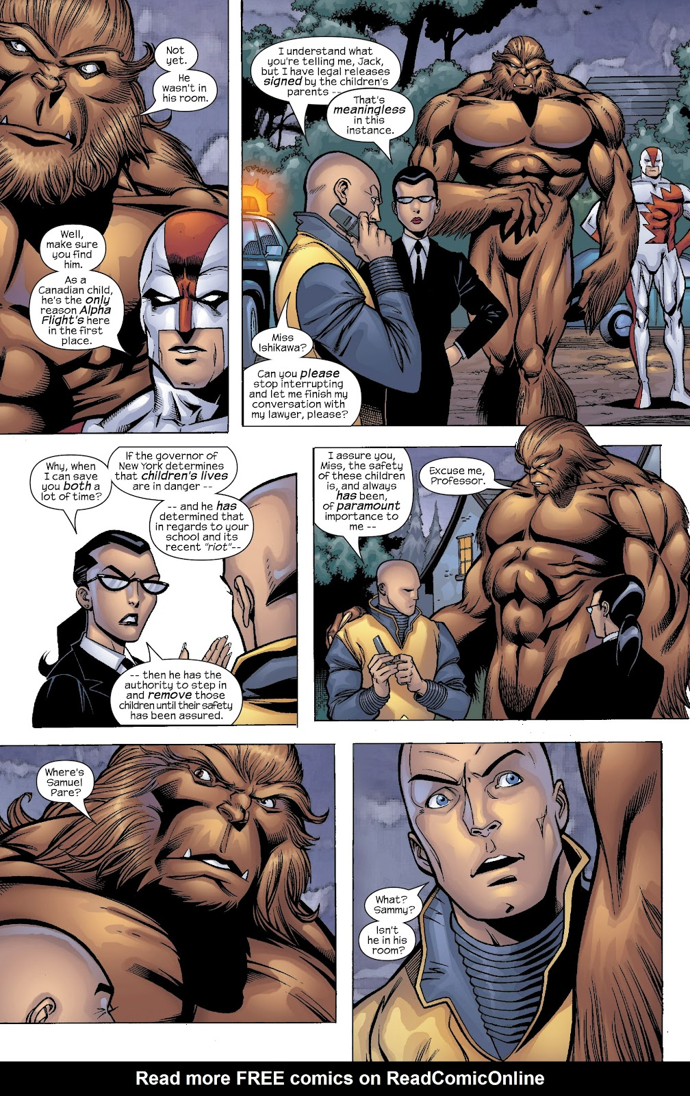 Read online X-Men: Unstoppable comic -  Issue # TPB (Part 4) - 47