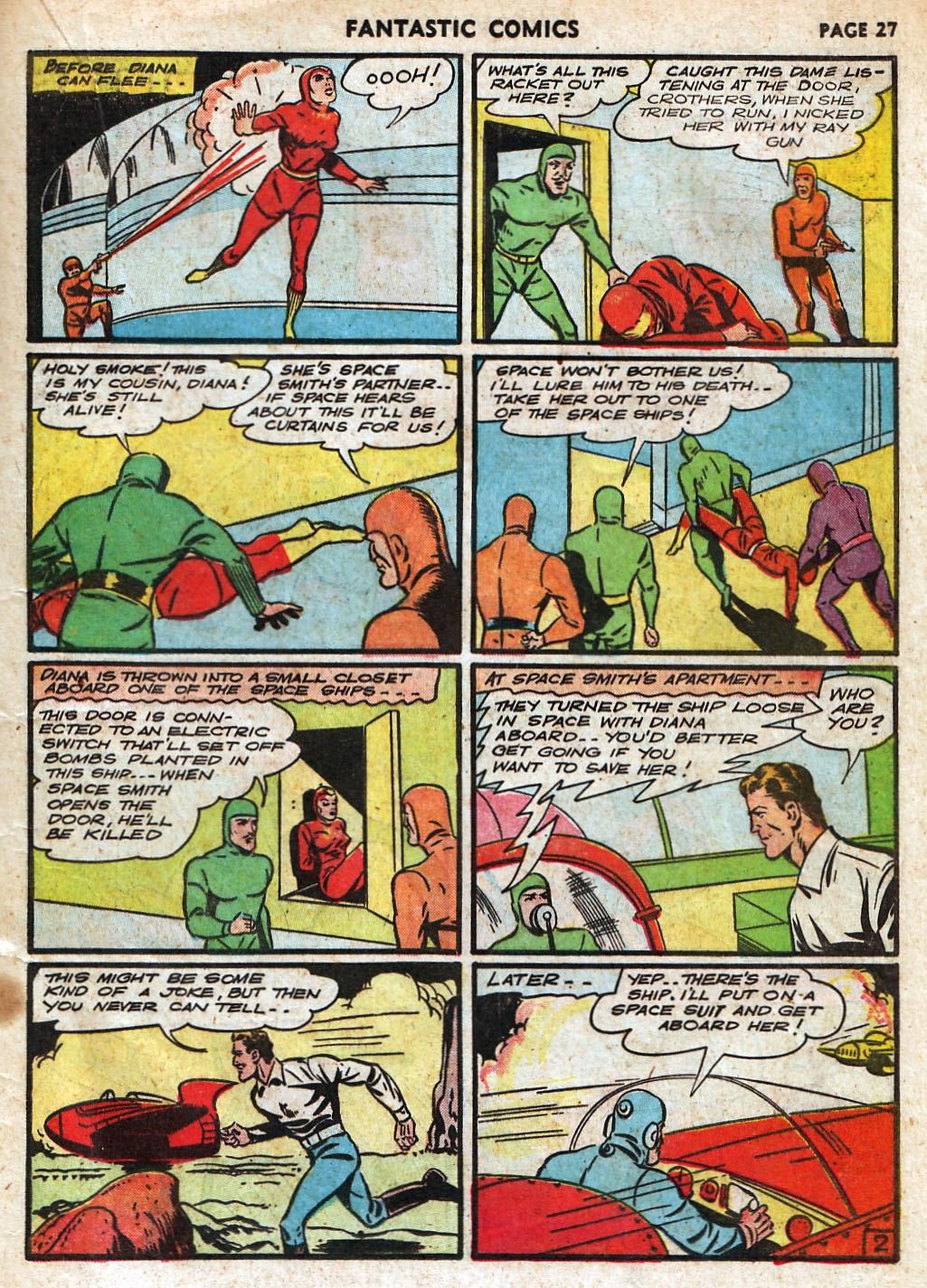 Read online Fantastic Comics comic -  Issue #18 - 29