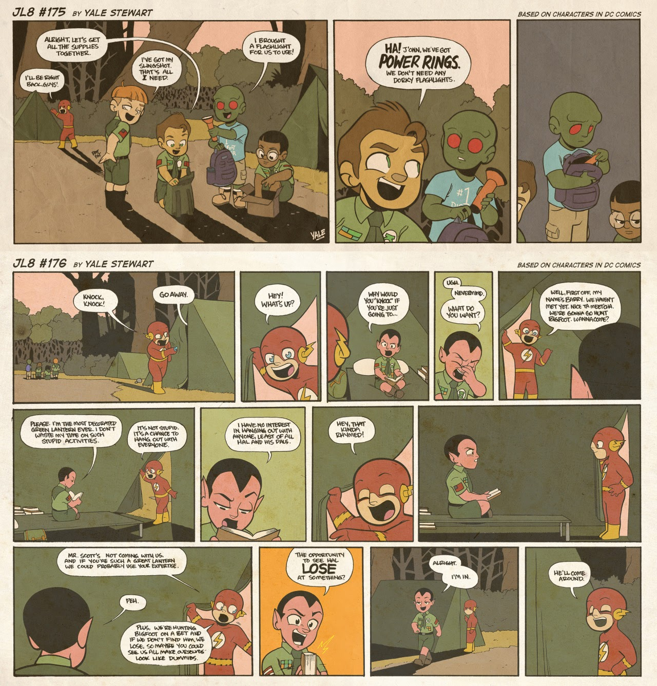 Read online JL8 – The Complete Collection comic -  Issue # TPB (Part 1) - 92