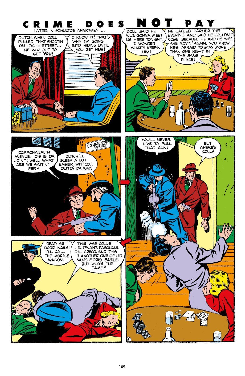 Read online Crime Does Not Pay Archives comic -  Issue # TPB 7 (Part 2) - 11