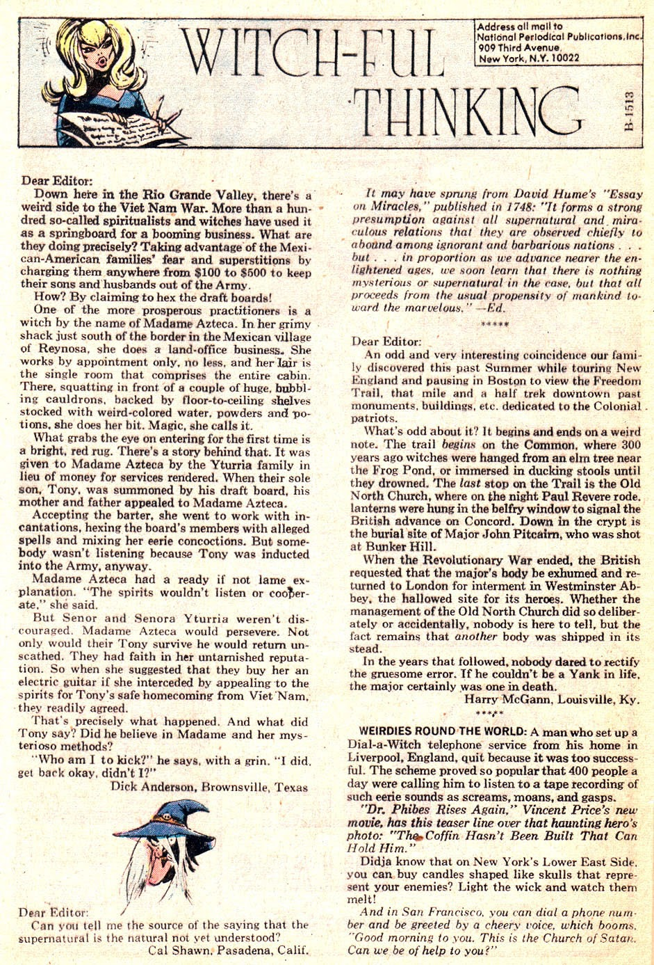 The Witching Hour (1969) issue 25 - Page 32
