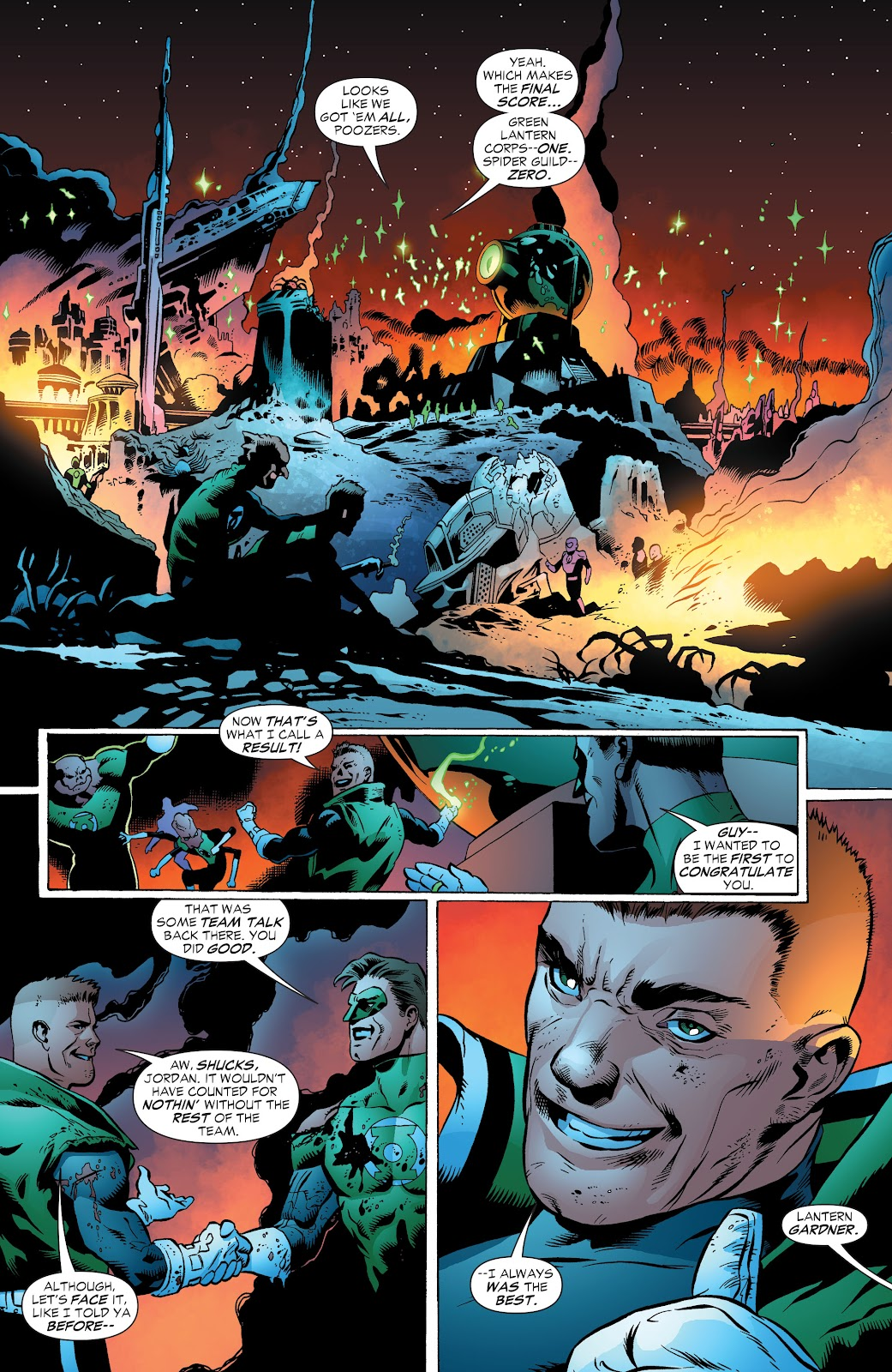 Read online Green Lantern by Geoff Johns comic -  Issue # TPB 1 (Part 3) - 91