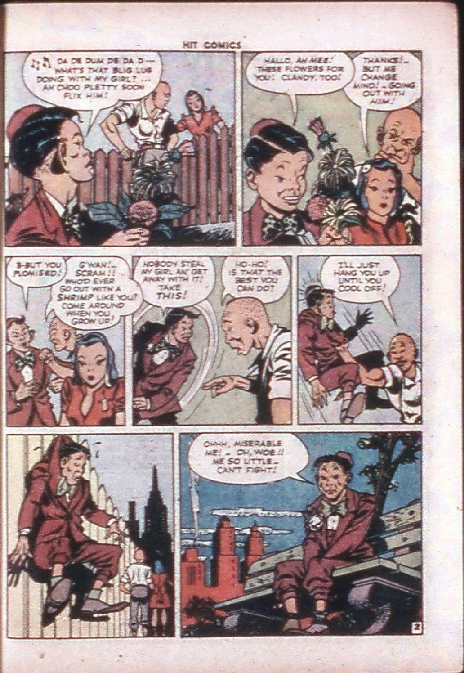 Read online Hit Comics comic -  Issue #33 - 38