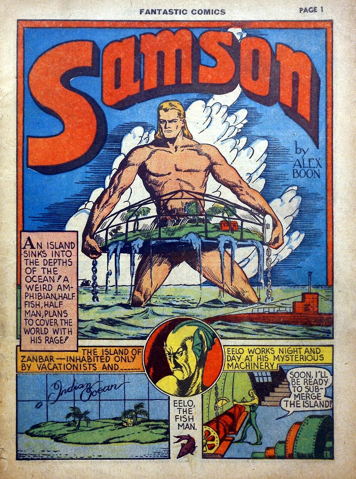 Read online Fantastic Comics comic -  Issue #5 - 2