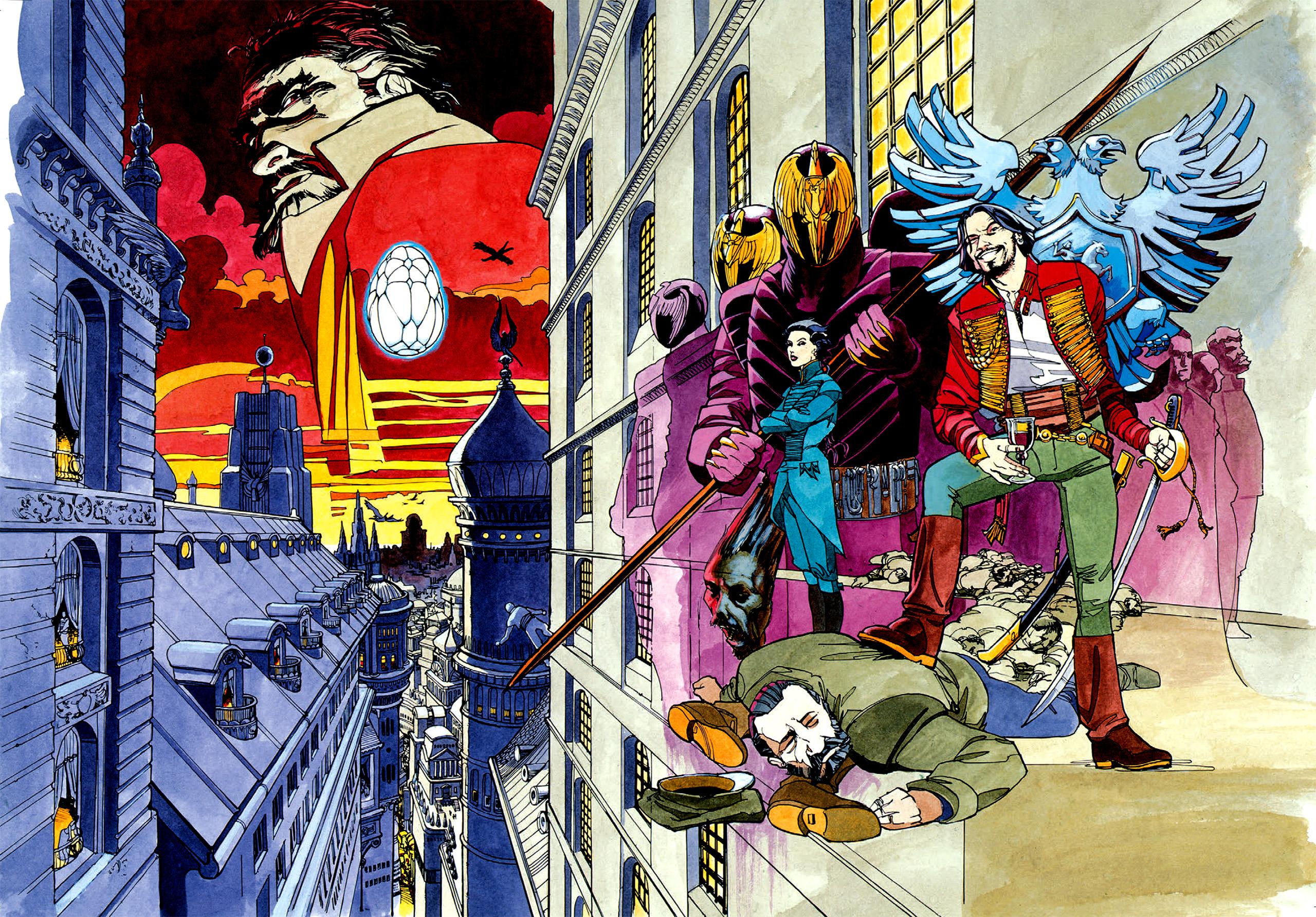 Read online Nikolai Dante comic -  Issue # TPB 1 - 6