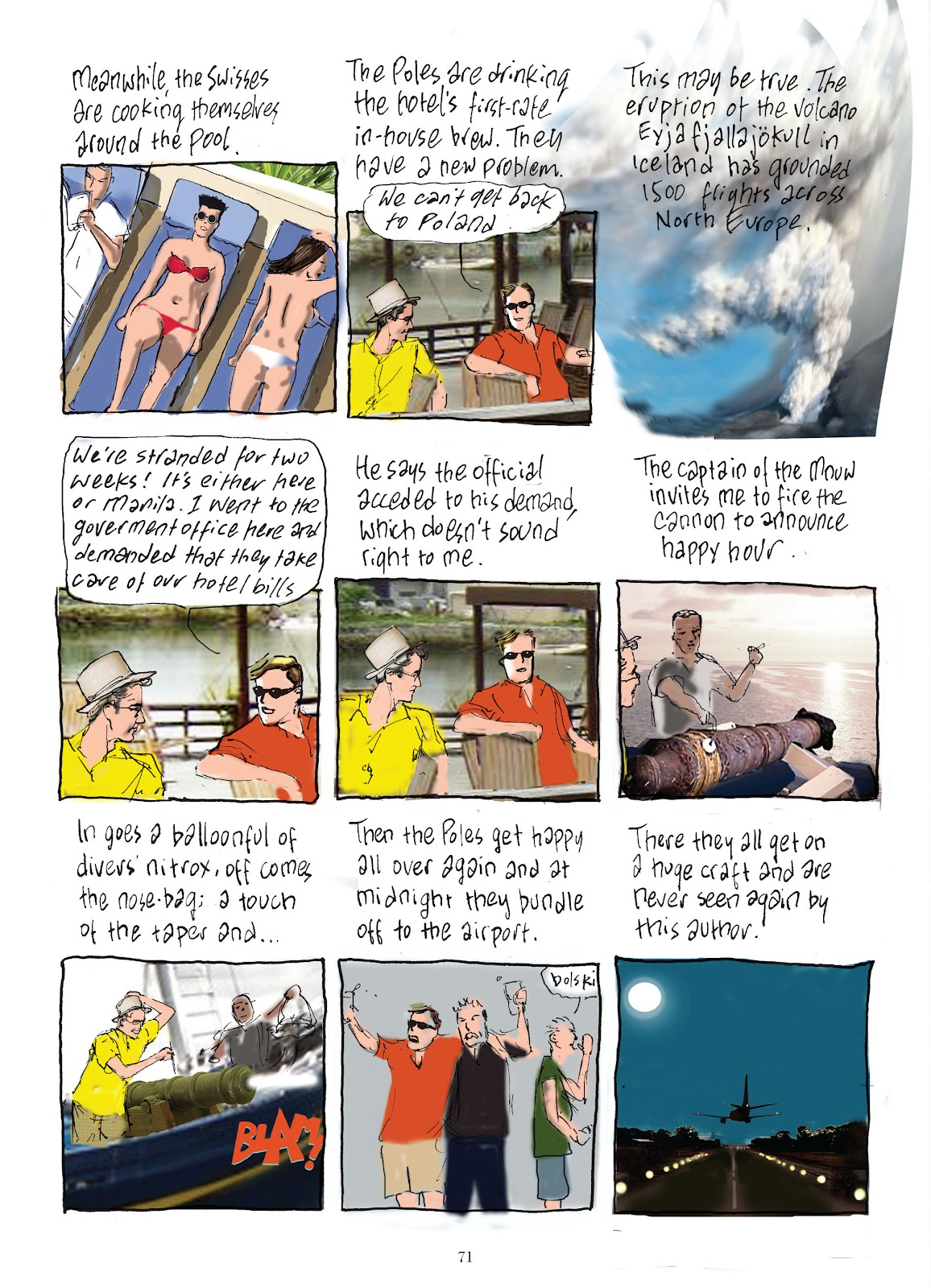 Read online The Lovely Horrible Stuff comic -  Issue # TPB - 73